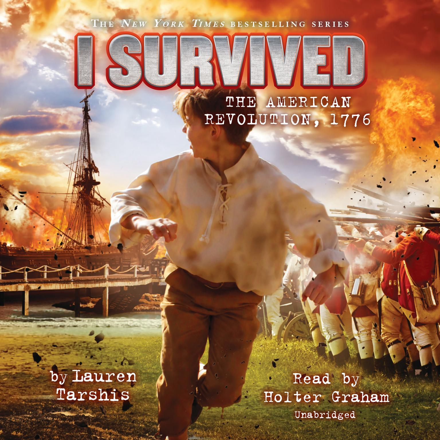 I Survived the American Revolution, 1776 Audiobook, by Lauren Tarshis