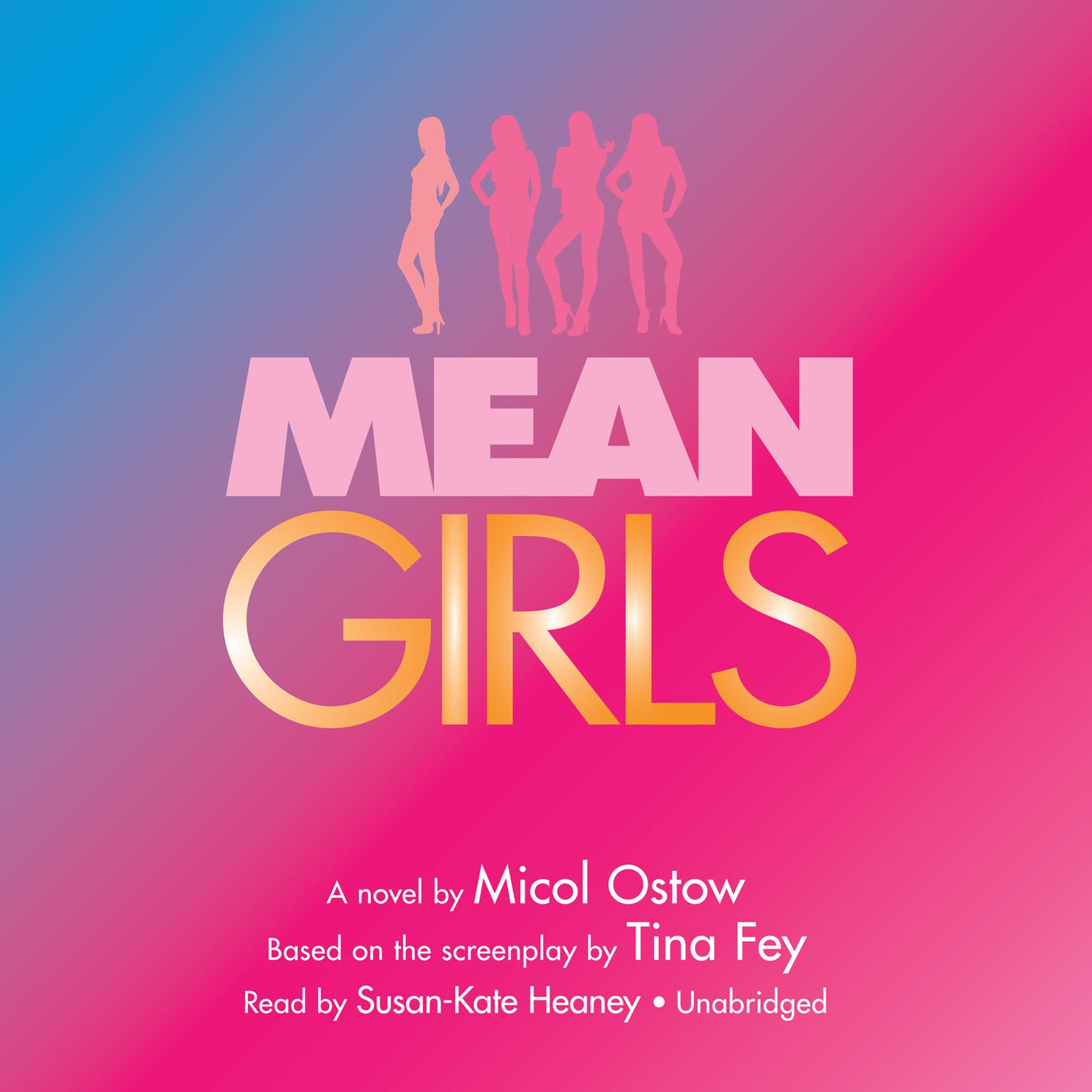 Printable Mean Girls: A Novel Audiobook Cover Art