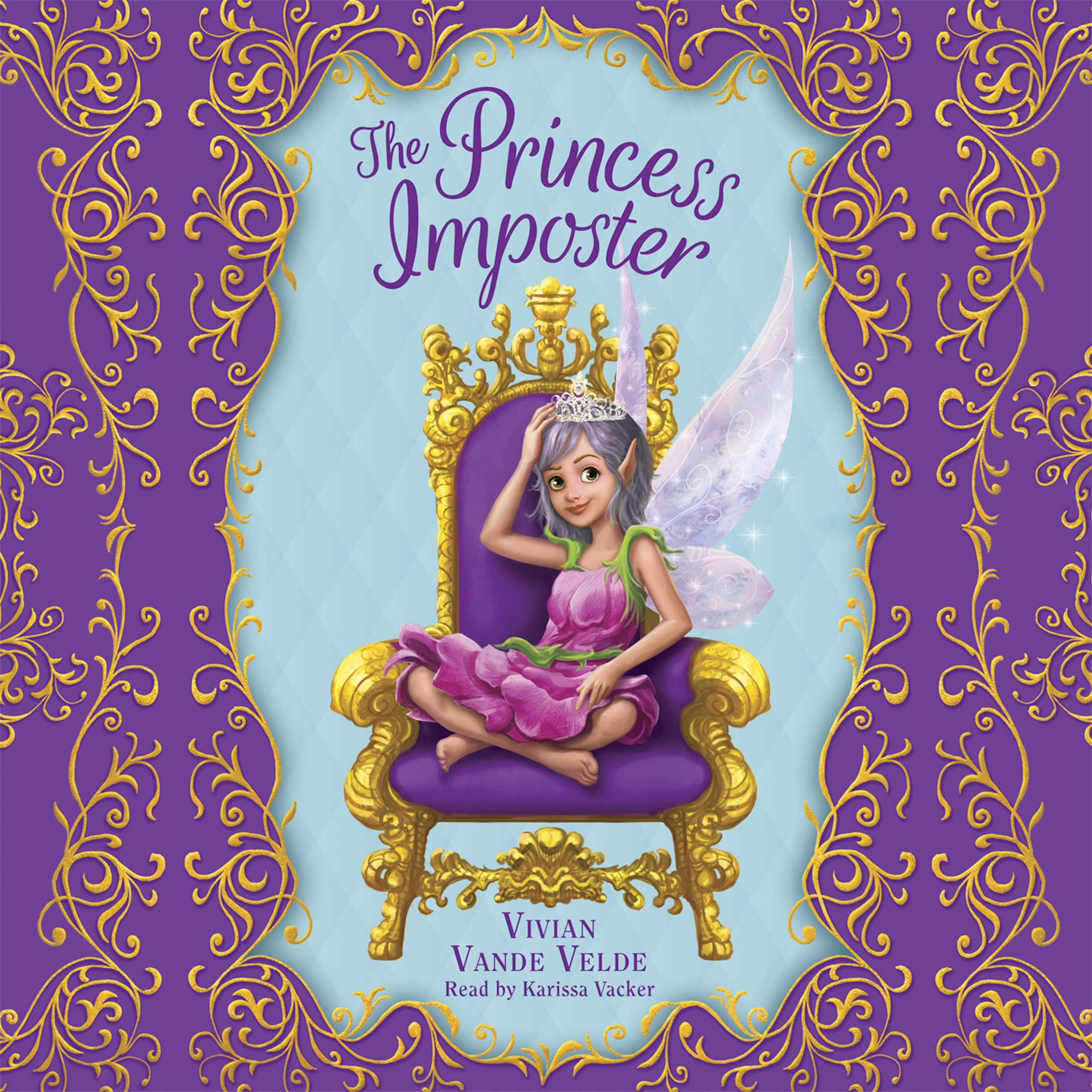 Printable The Princess Imposter Audiobook Cover Art
