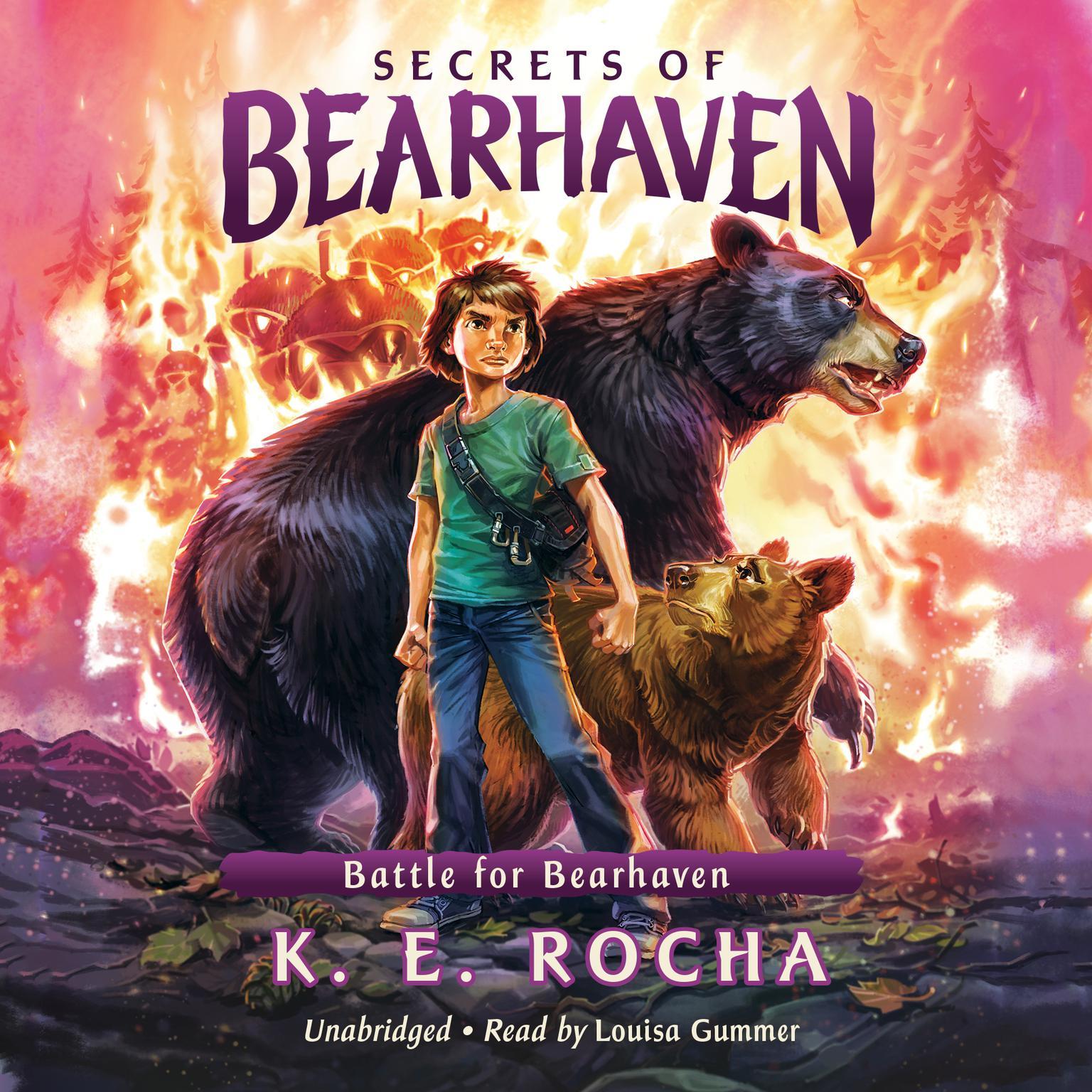 Battle for Bearhaven Audiobook, by K. E. Rocha