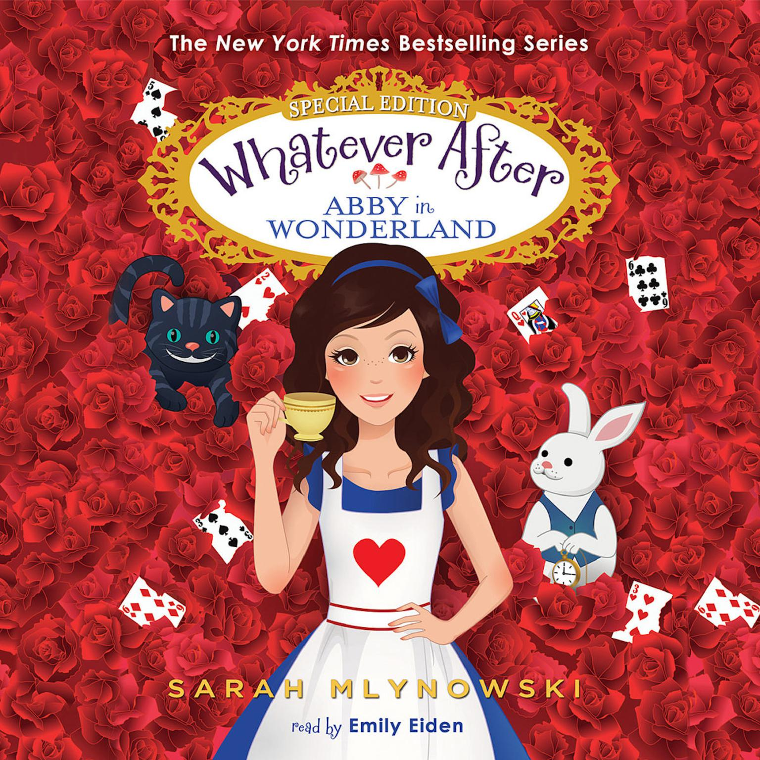 Printable Abby in Wonderland: Whatever After: Special Edition Audiobook Cover Art