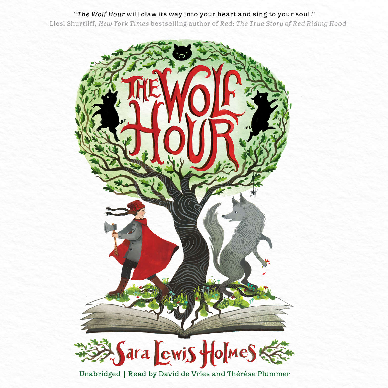 The Wolf Hour Audiobook, by Sara Lewis Holmes