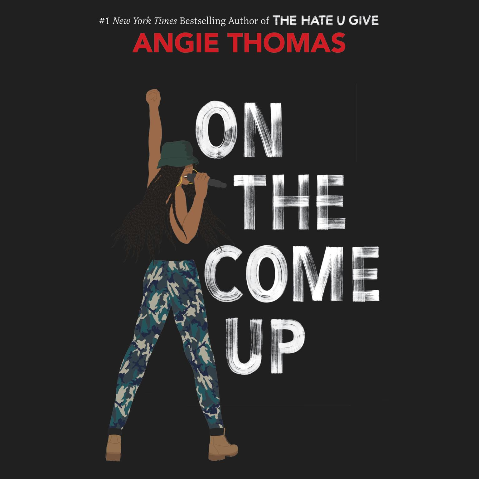 Printable On the Come Up Audiobook Cover Art