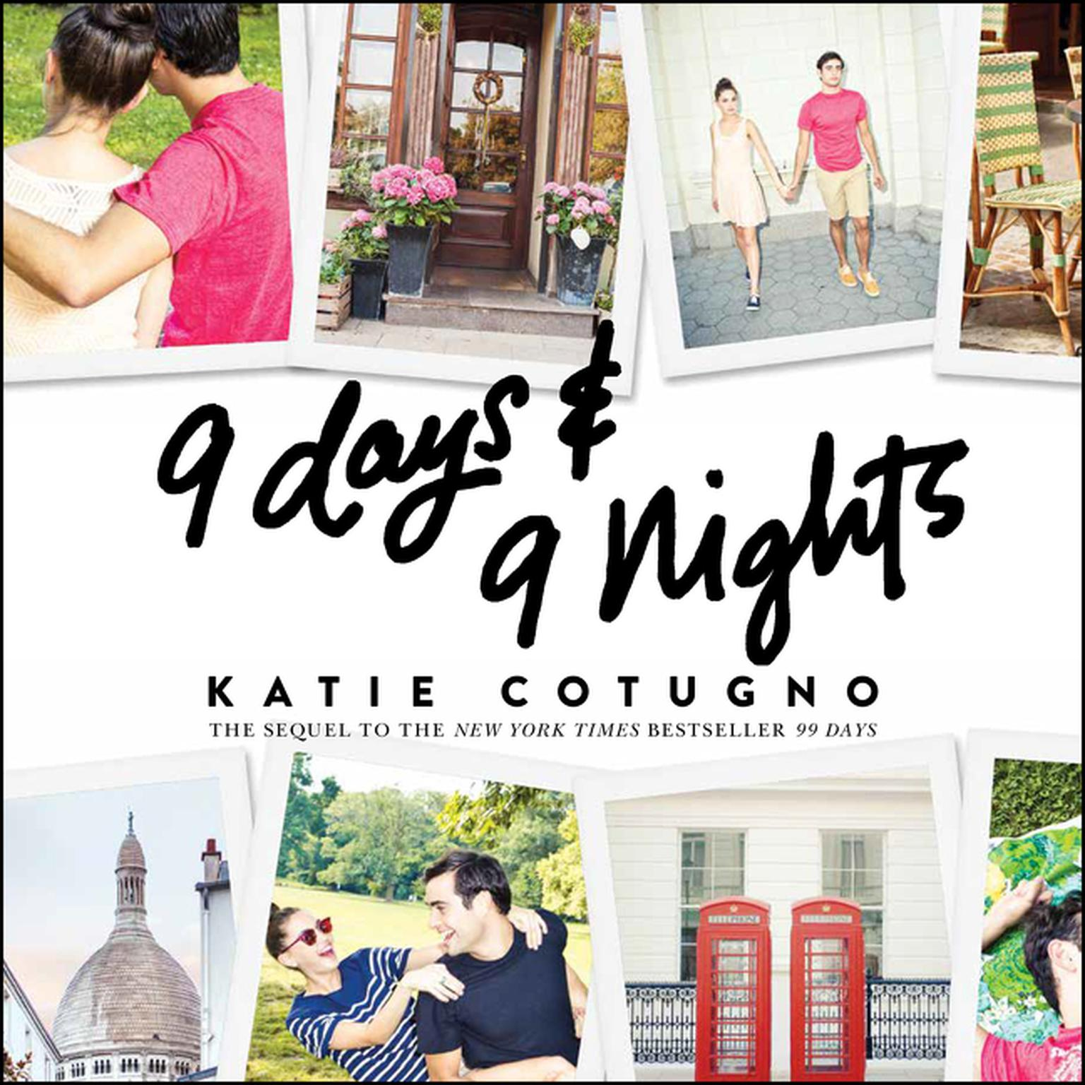 Printable 9 Days and 9 Nights Audiobook Cover Art