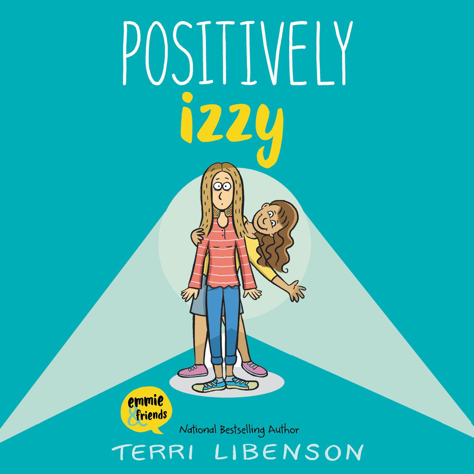 Printable Positively Izzy Audiobook Cover Art
