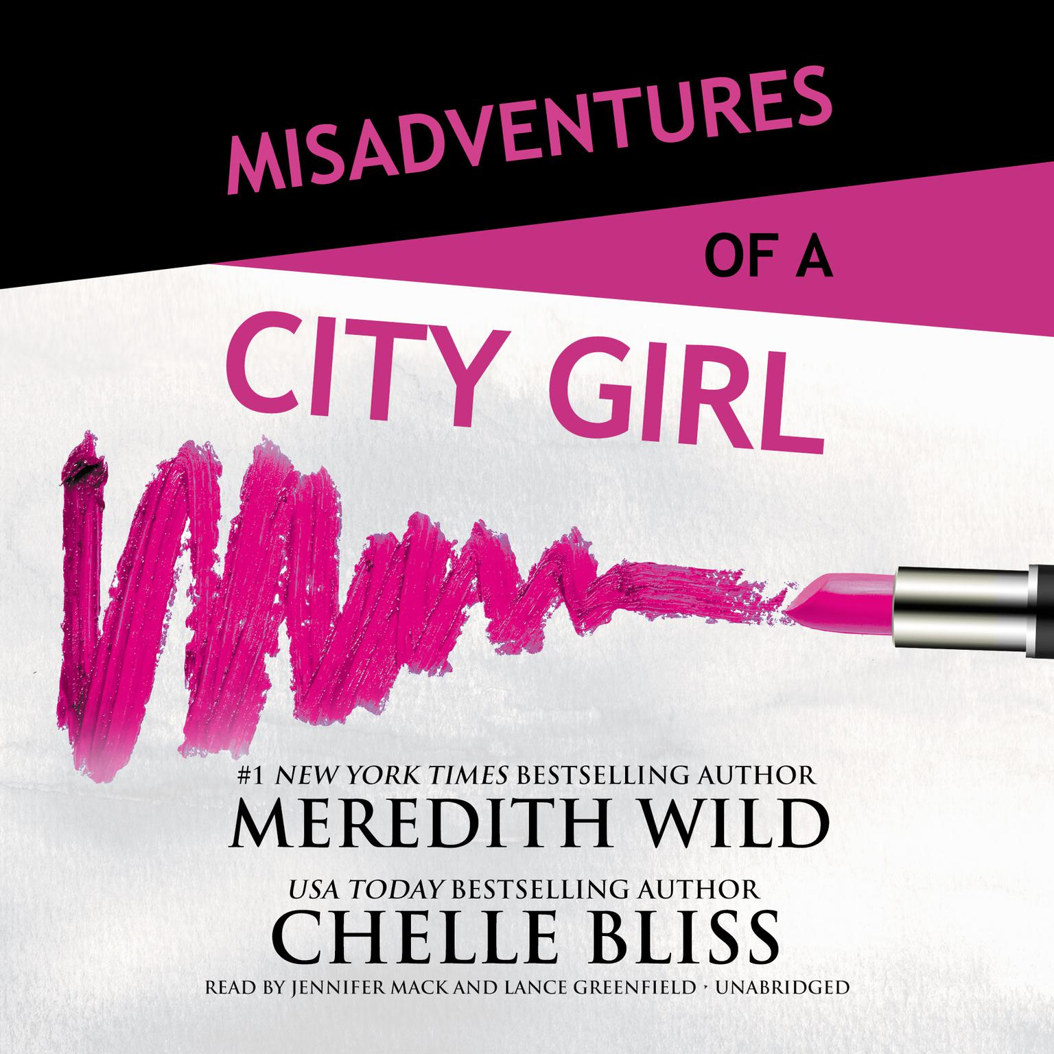 Printable Misadventures of a City Girl Audiobook Cover Art