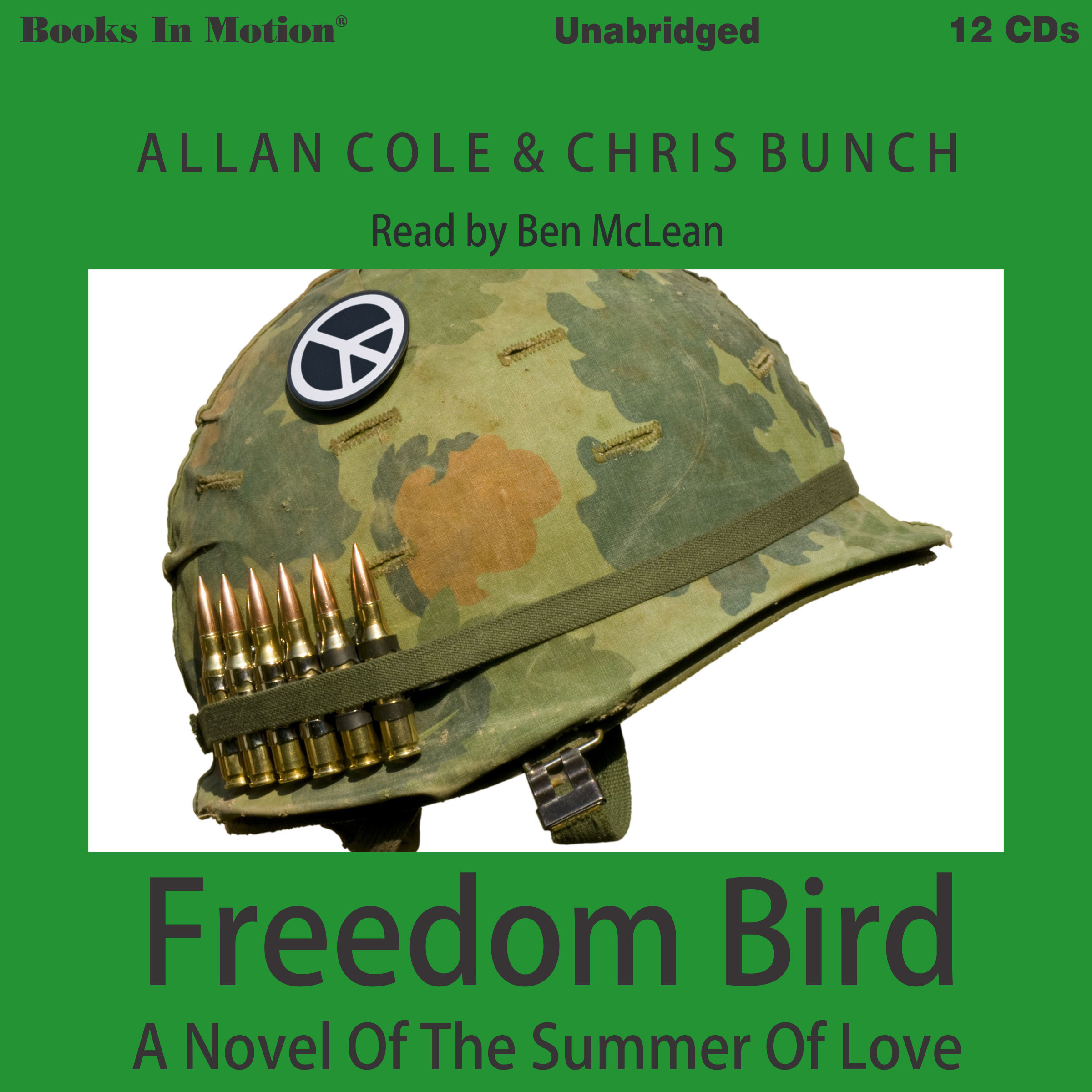 Printable Freedom Bird: A Novel of the Summer of Love Audiobook Cover Art