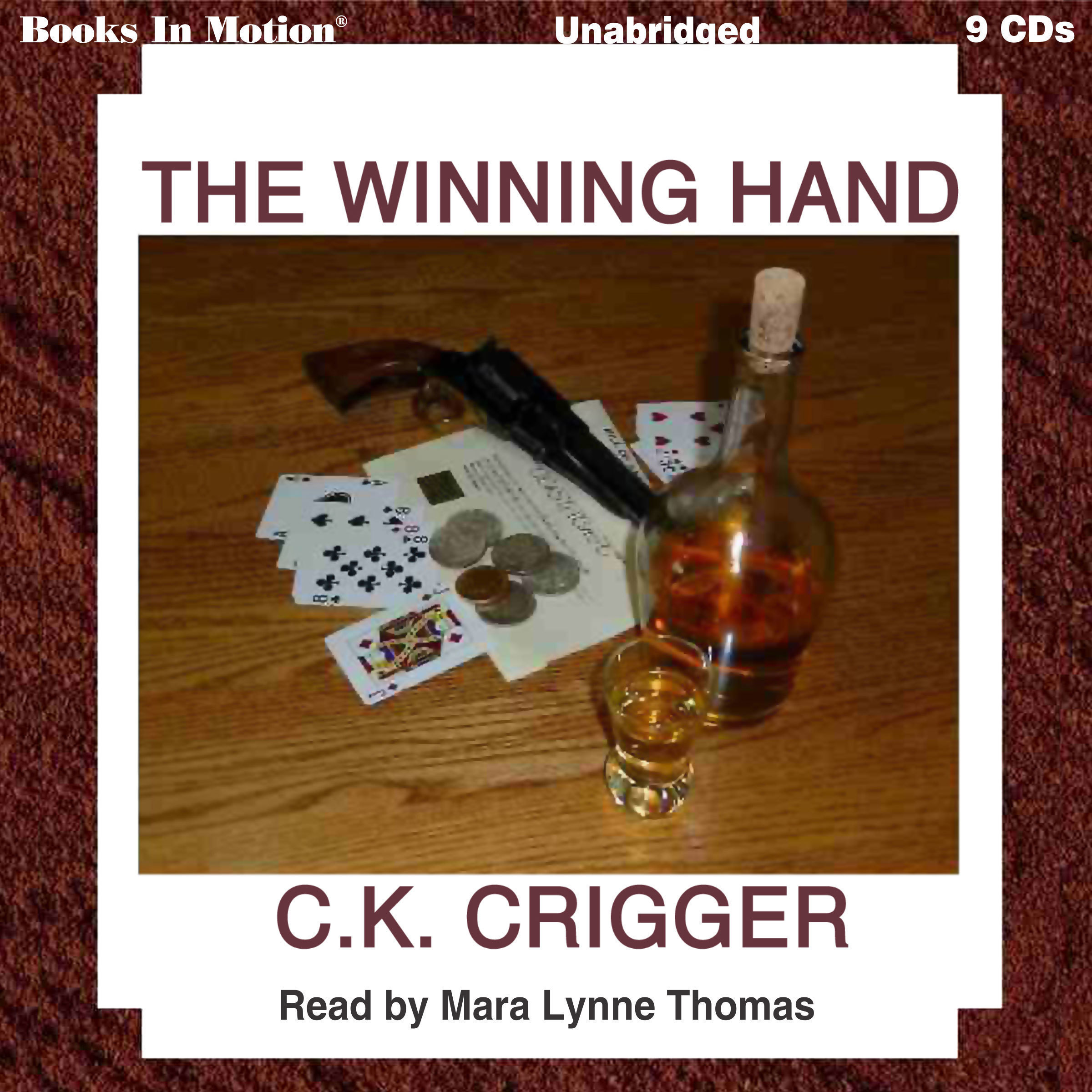 Printable The Winning Hand Audiobook Cover Art