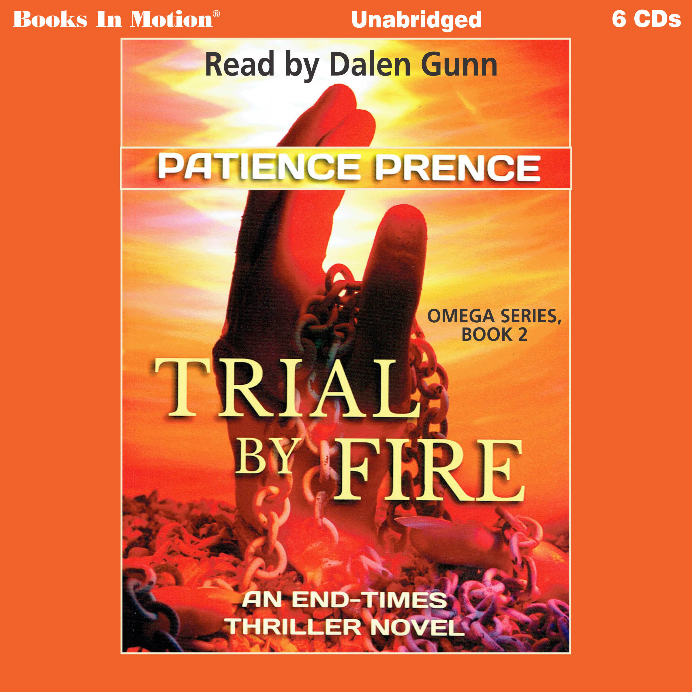Printable Trial By Fire: An End-Times Thriller Novel Audiobook Cover Art