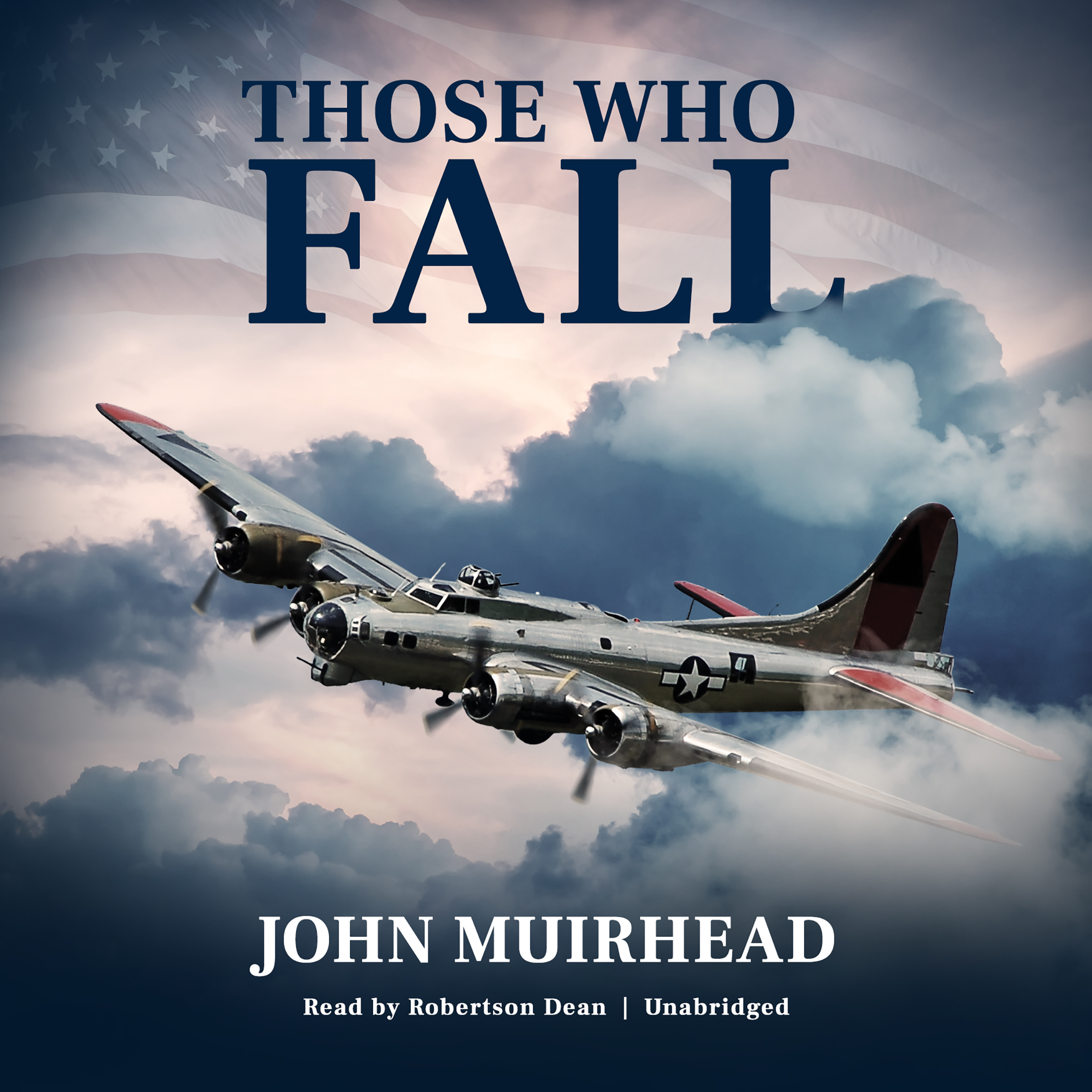 Printable Those Who Fall Audiobook Cover Art