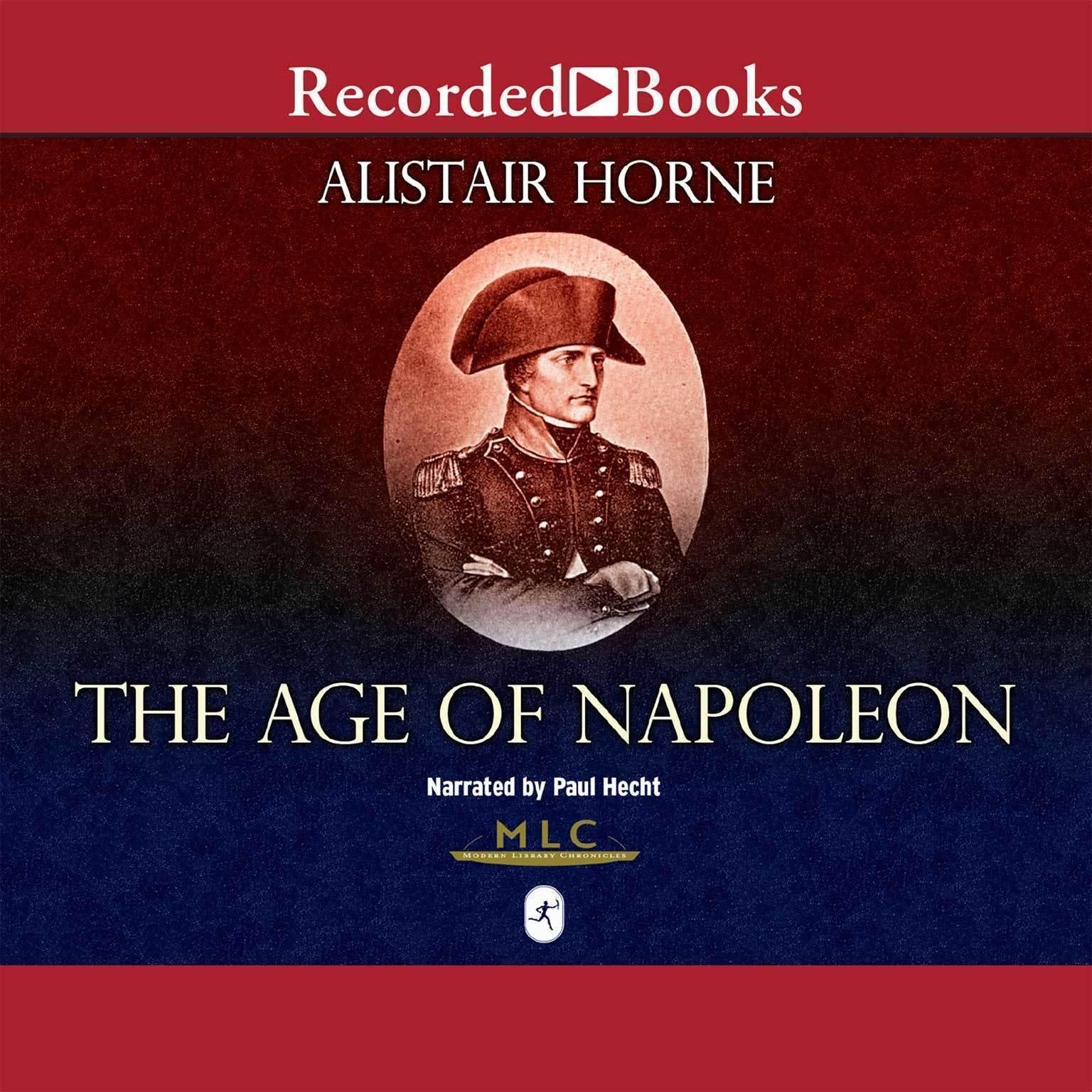 Printable The Age of Napoleon: Modern Library Chronicles Audiobook Cover Art