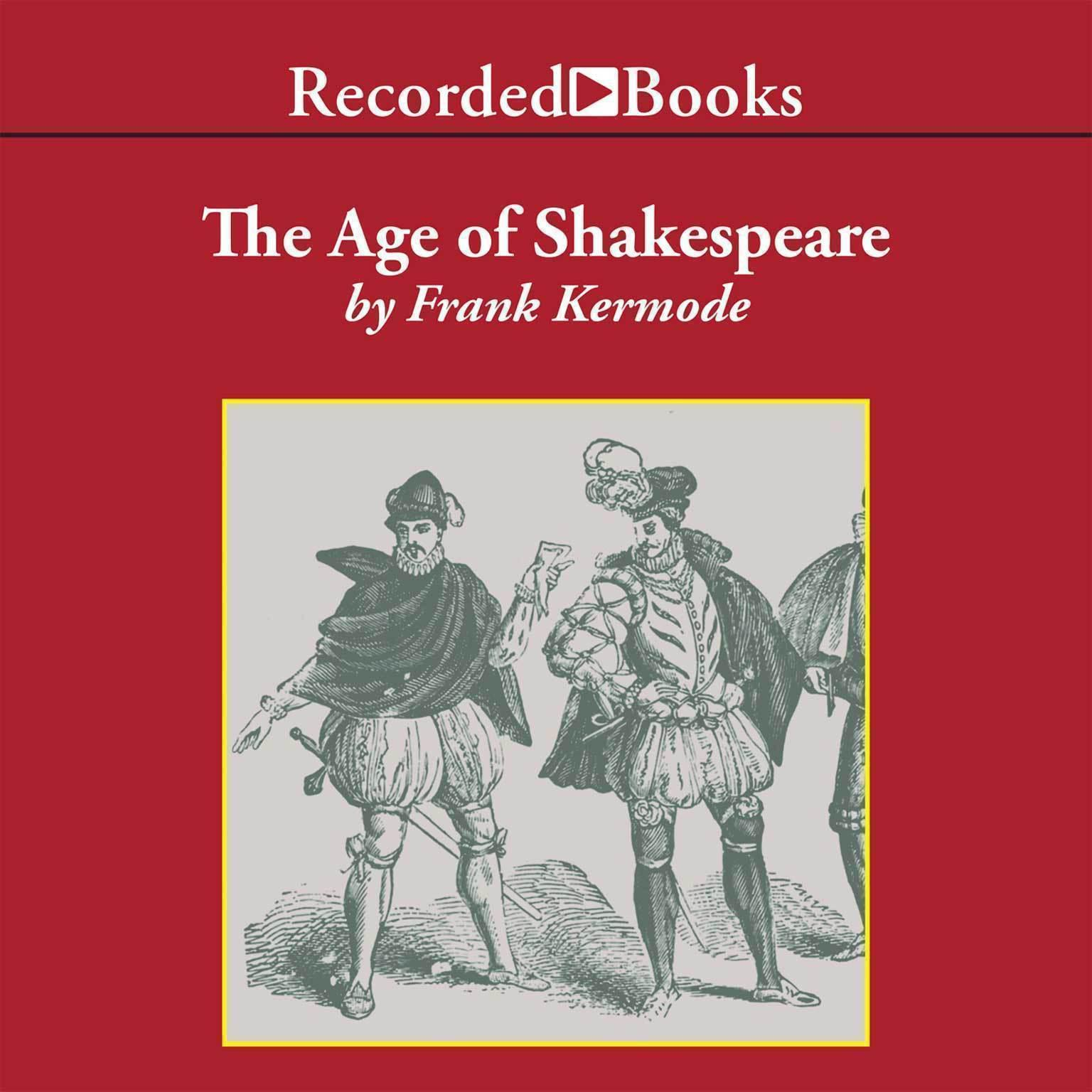 Printable The Age of Shakespeare: Modern Library Chronicles Audiobook Cover Art