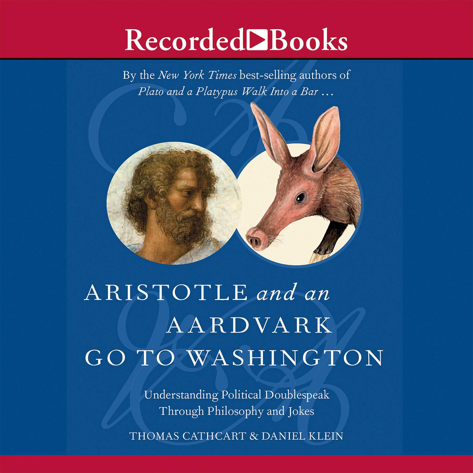 Printable Aristotle and an Aardvark Go to Washington Audiobook Cover Art