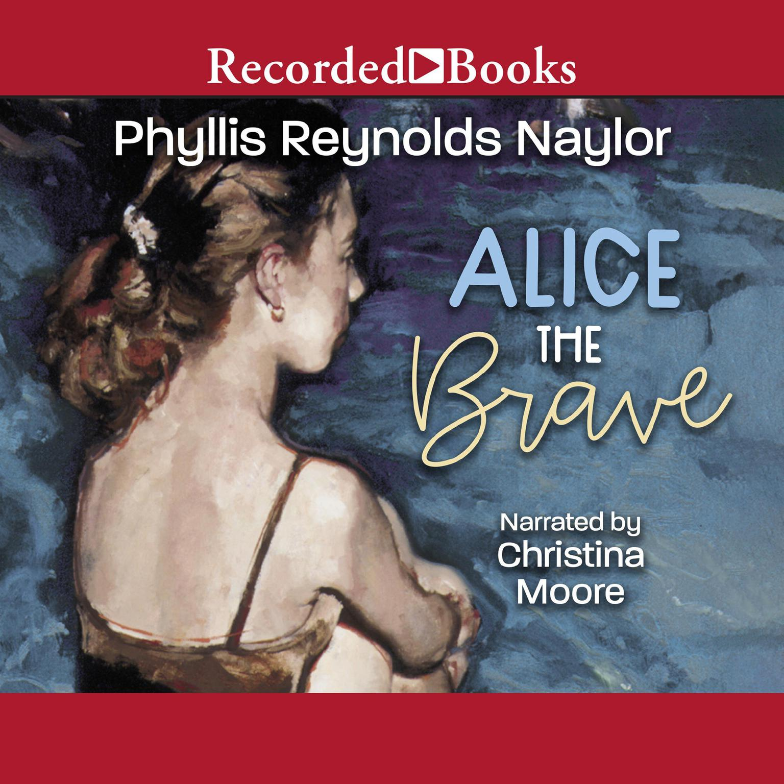 Printable Alice the Brave Audiobook Cover Art