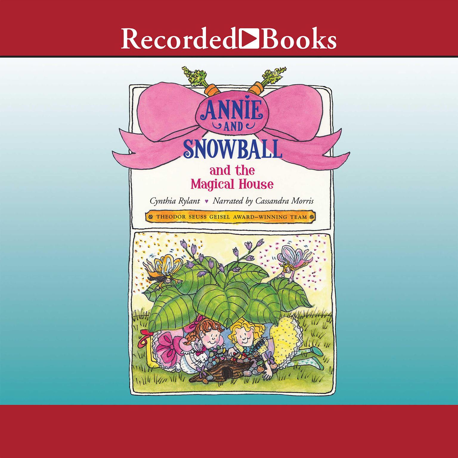 Printable Annie and Snowball and the Magical House Audiobook Cover Art