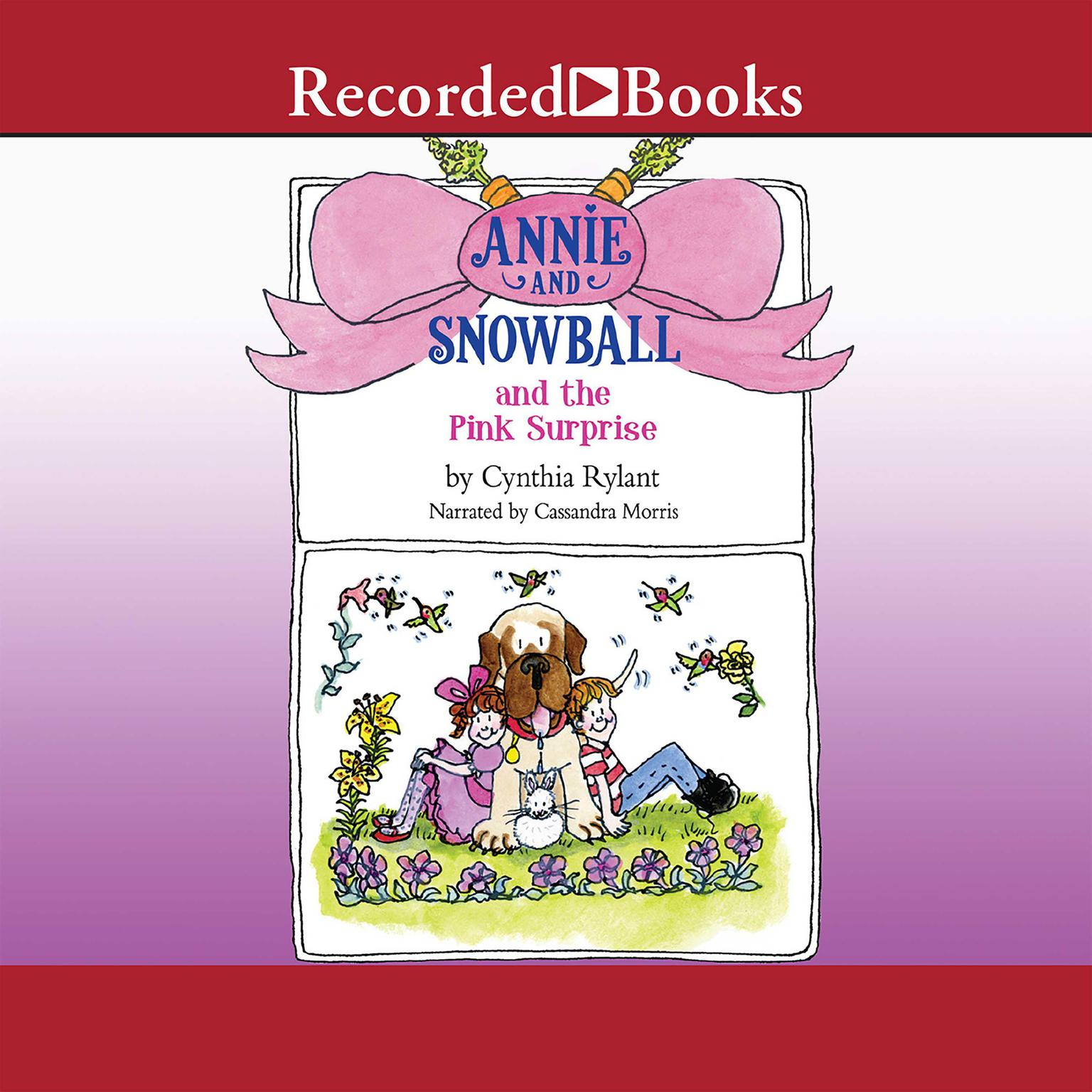 Printable Annie and Snowball and the Pink Surprise Audiobook Cover Art