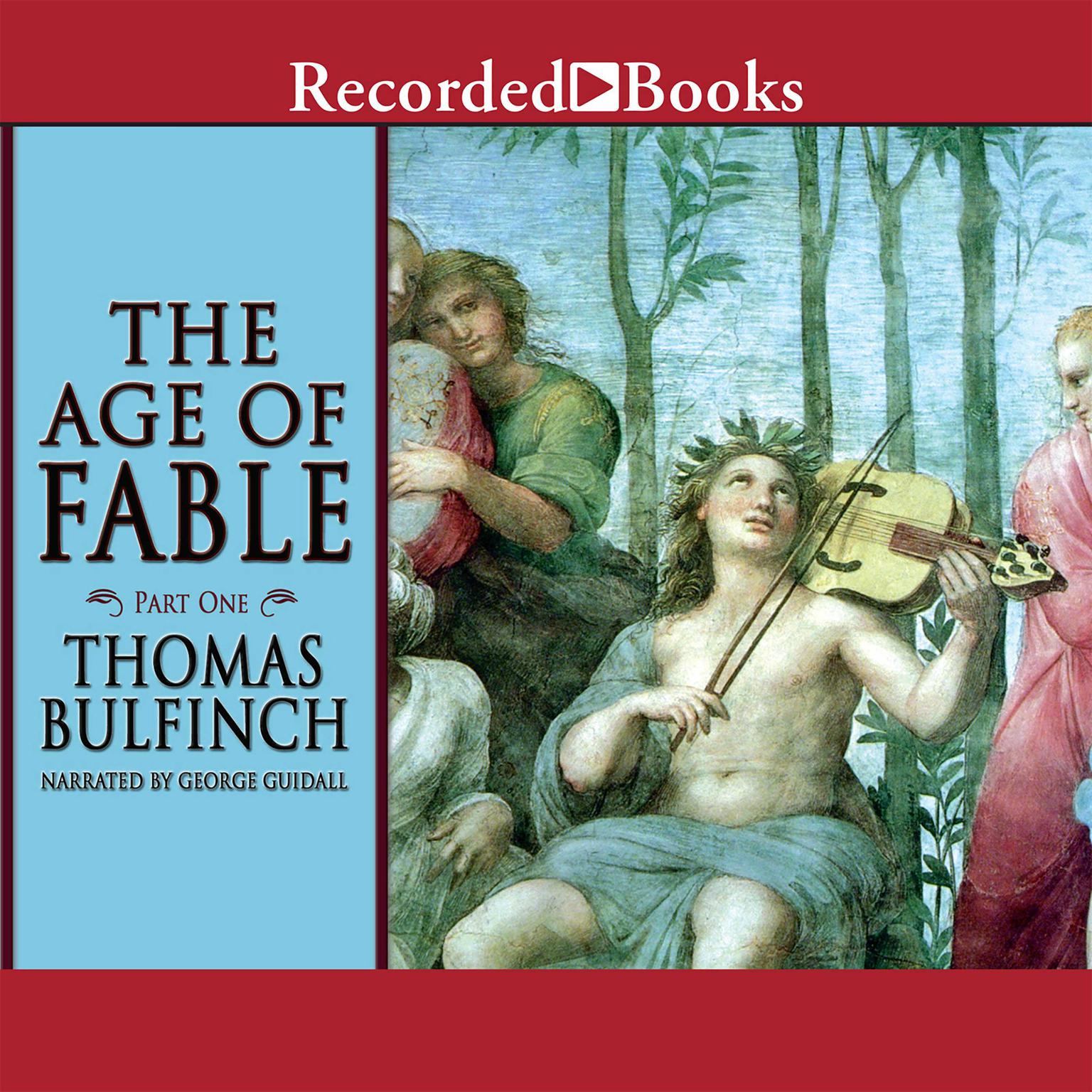 Printable The Age of Fable: Part One Audiobook Cover Art