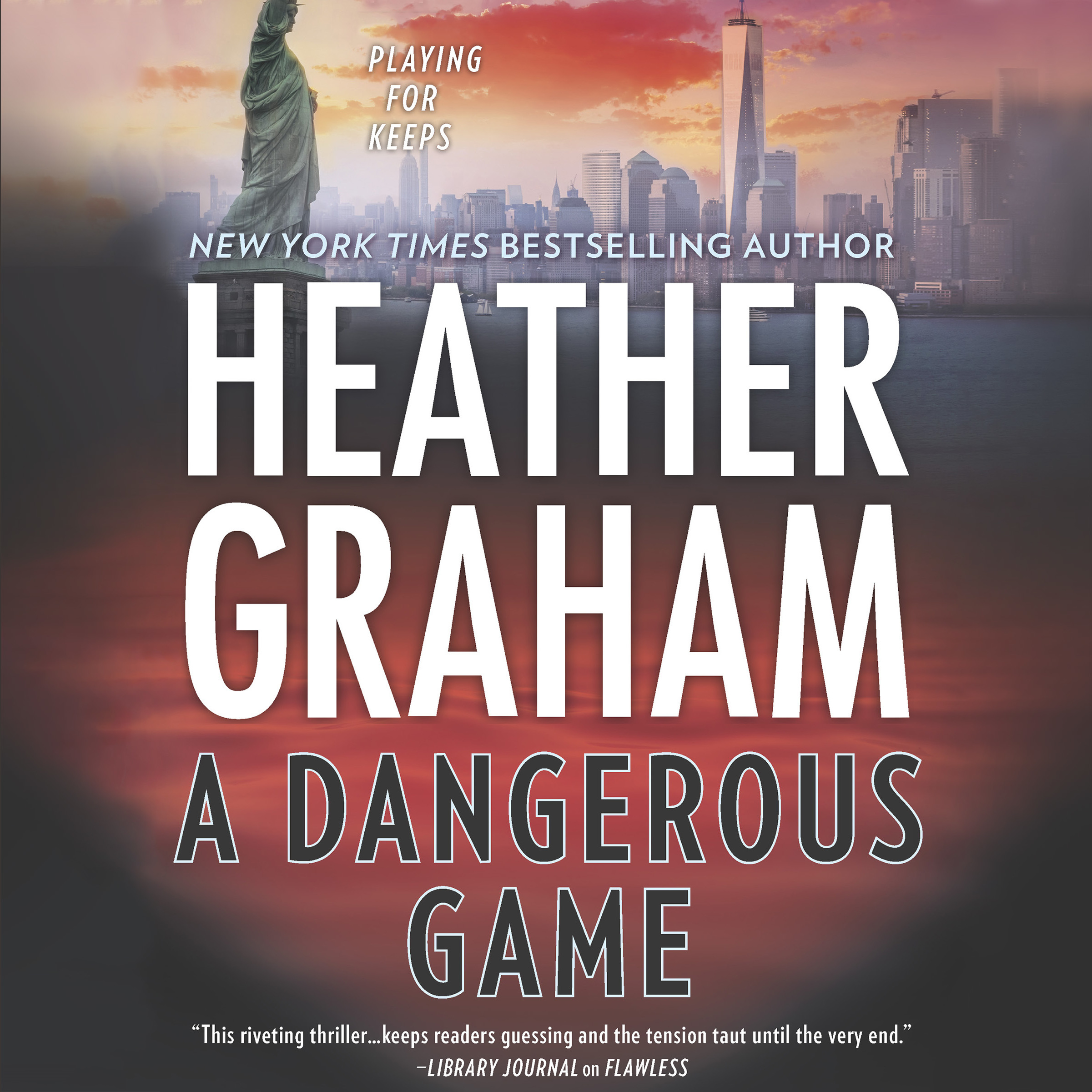Printable A Dangerous Game Audiobook Cover Art