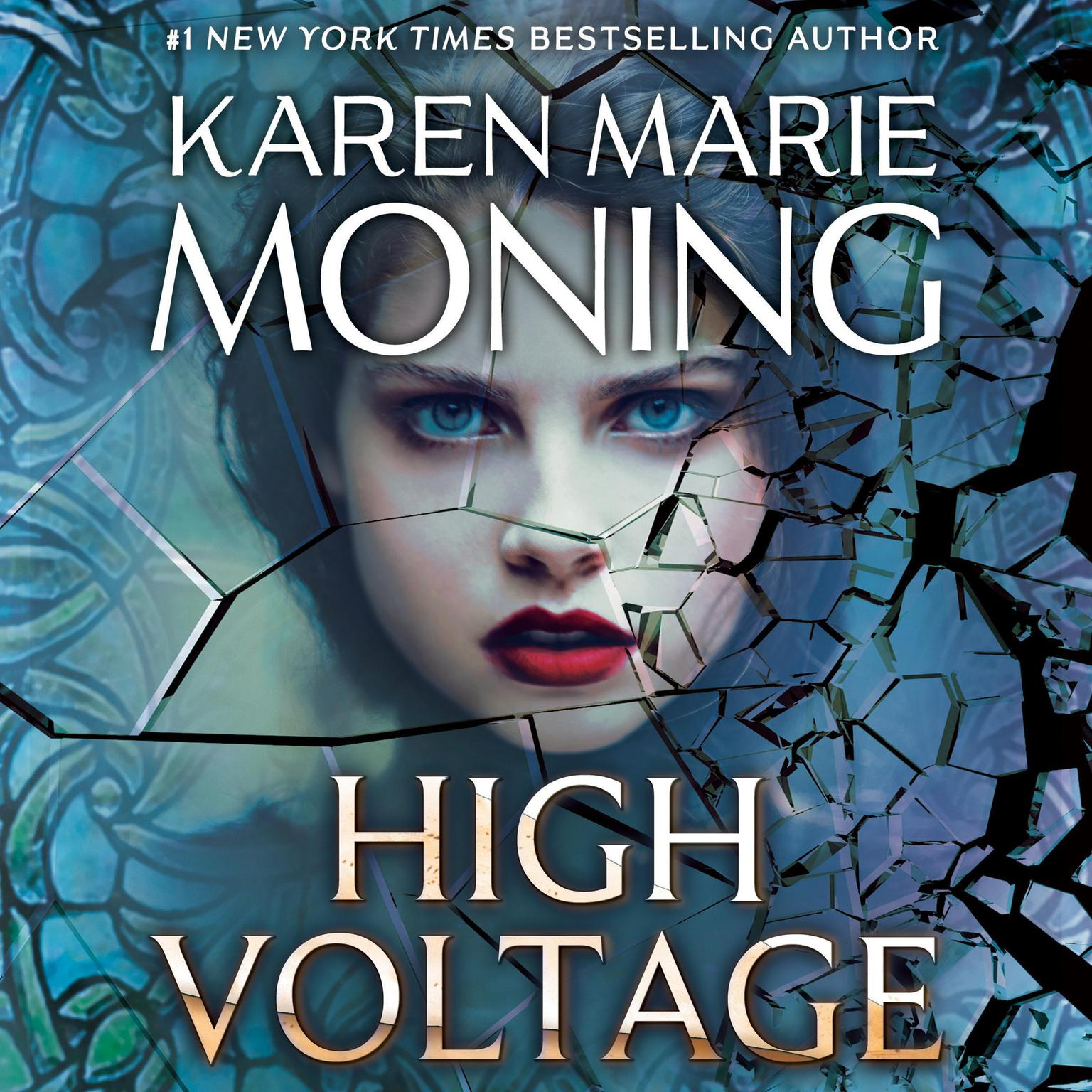 Printable High Voltage Audiobook Cover Art