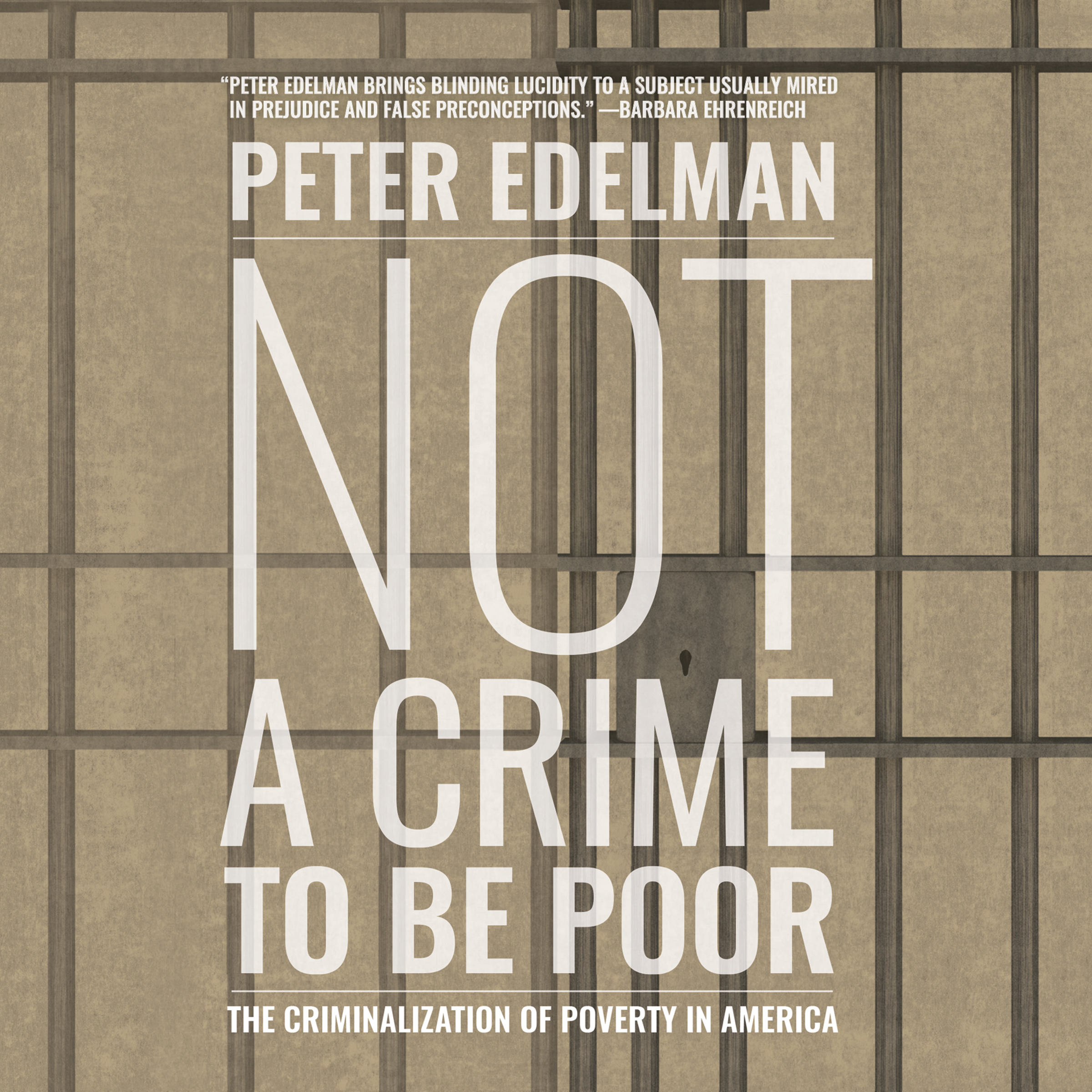 Printable Not a Crime to Be Poor: The Criminalization of Poverty in America Audiobook Cover Art
