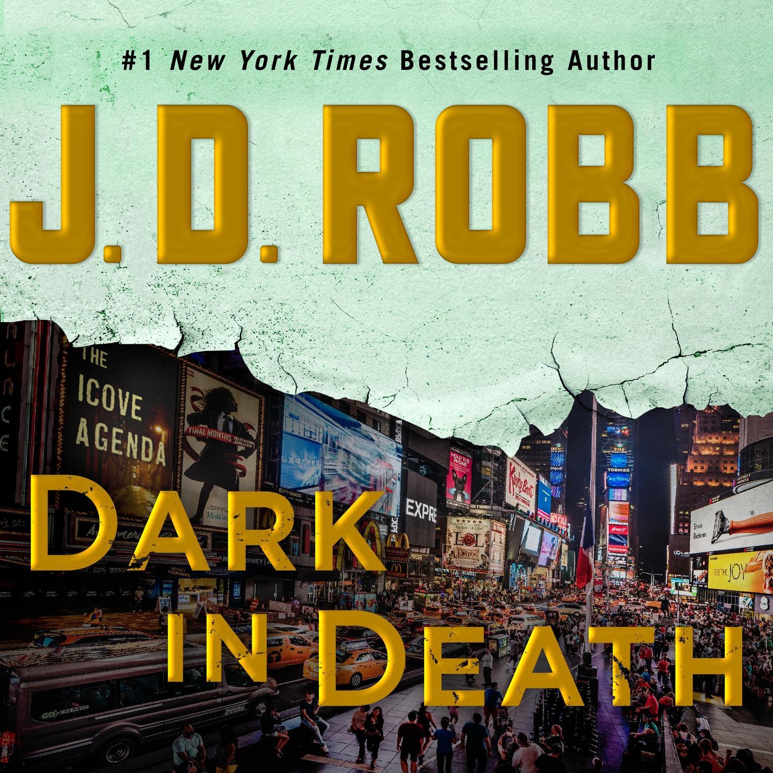 Printable Dark in Death Audiobook Cover Art