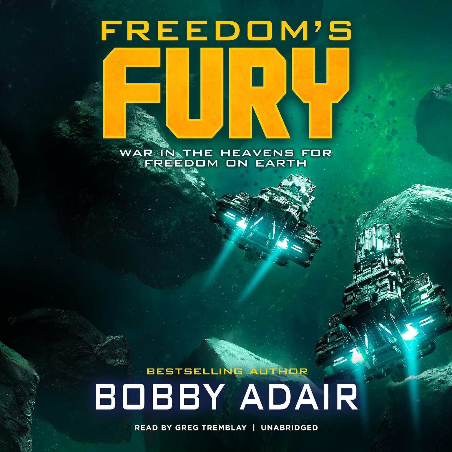 Printable Freedom's Fury Audiobook Cover Art