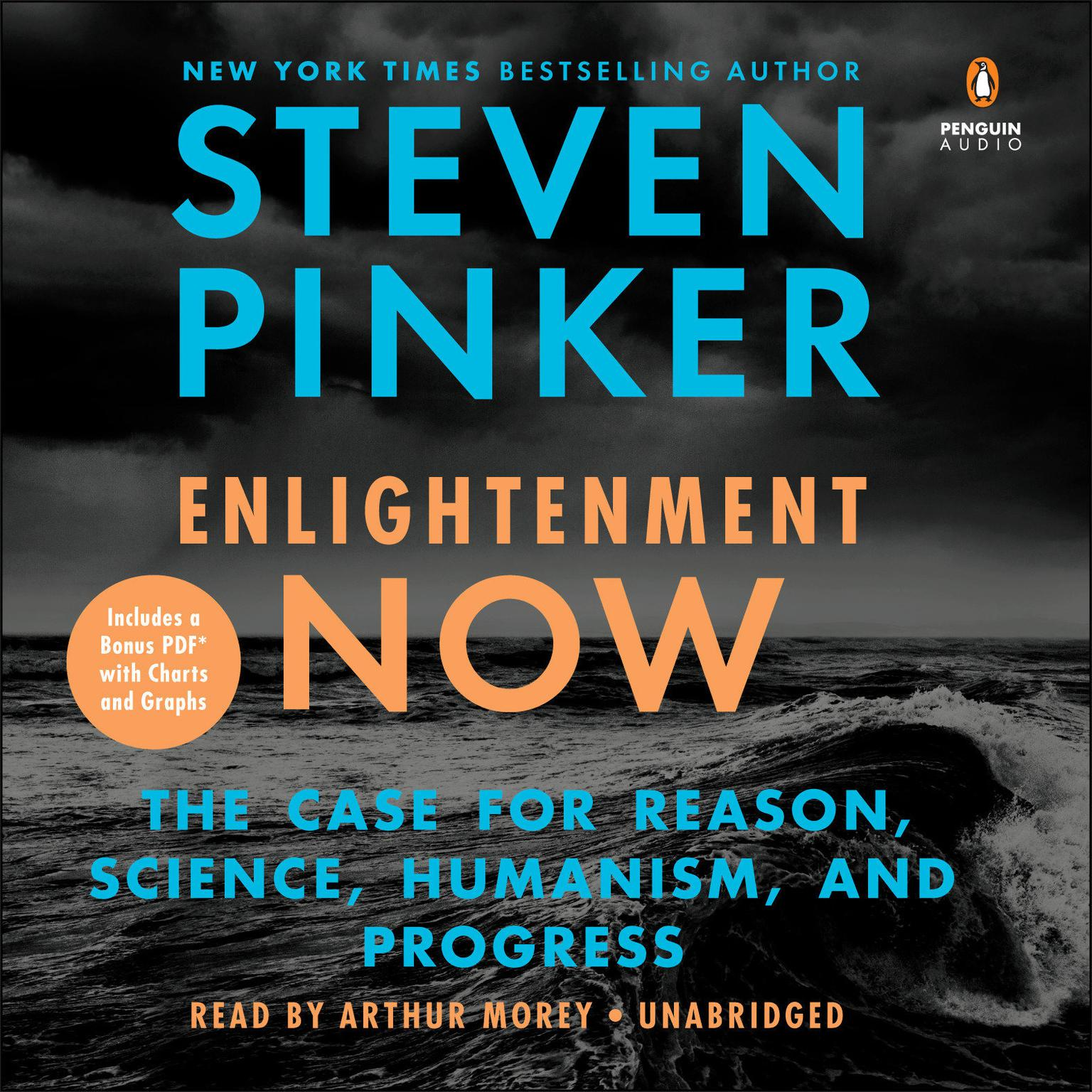 Printable Enlightenment Now: The Case for Reason, Science, Humanism, and Progress Audiobook Cover Art