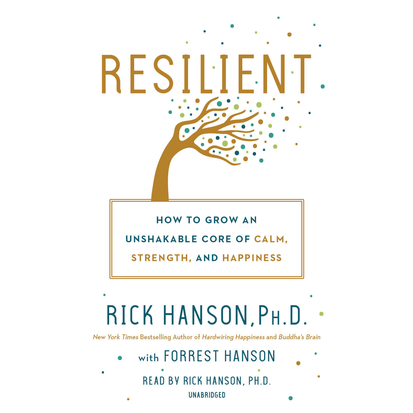Printable Resilient: How to Grow an Unshakable Core of Calm, Strength, and Happiness Audiobook Cover Art