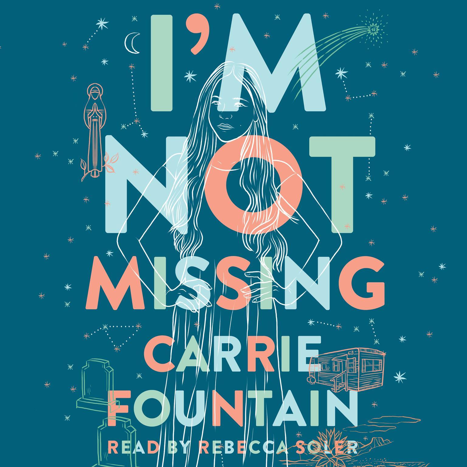 Printable I'm Not Missing: A Novel Audiobook Cover Art