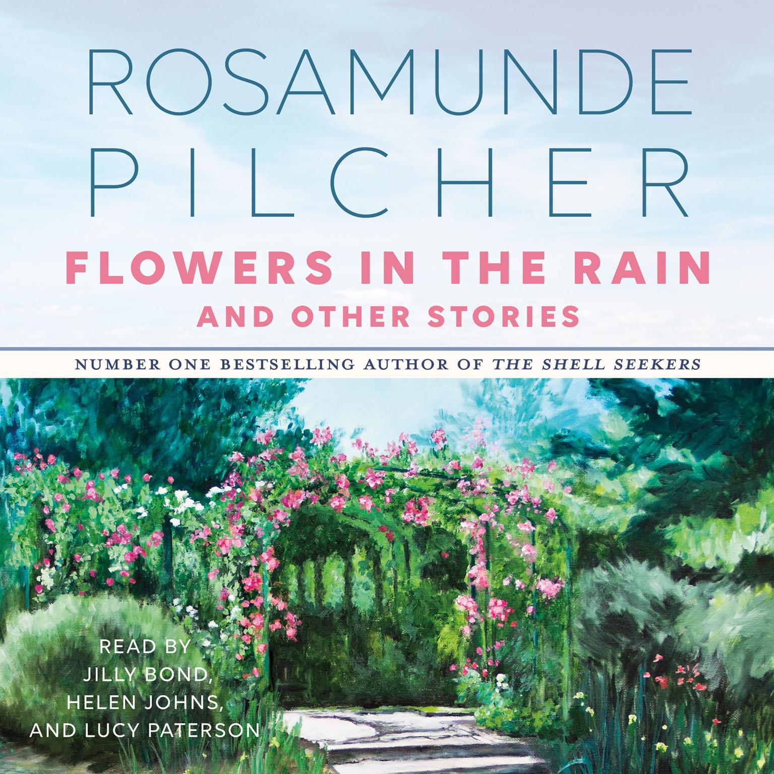 Printable Flowers In the Rain & Other Stories: & Other Stories Audiobook Cover Art