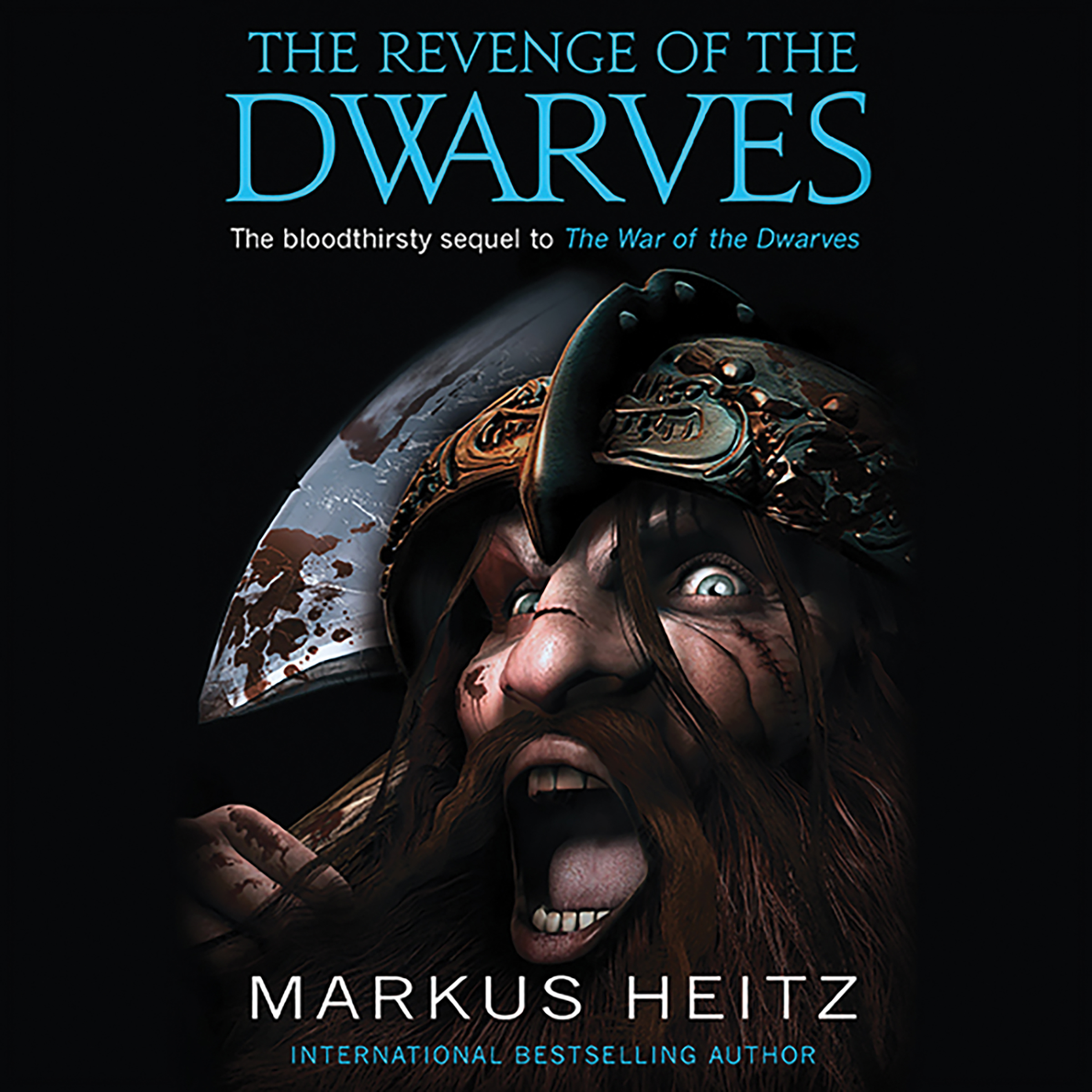 Printable The Revenge of the Dwarves Audiobook Cover Art