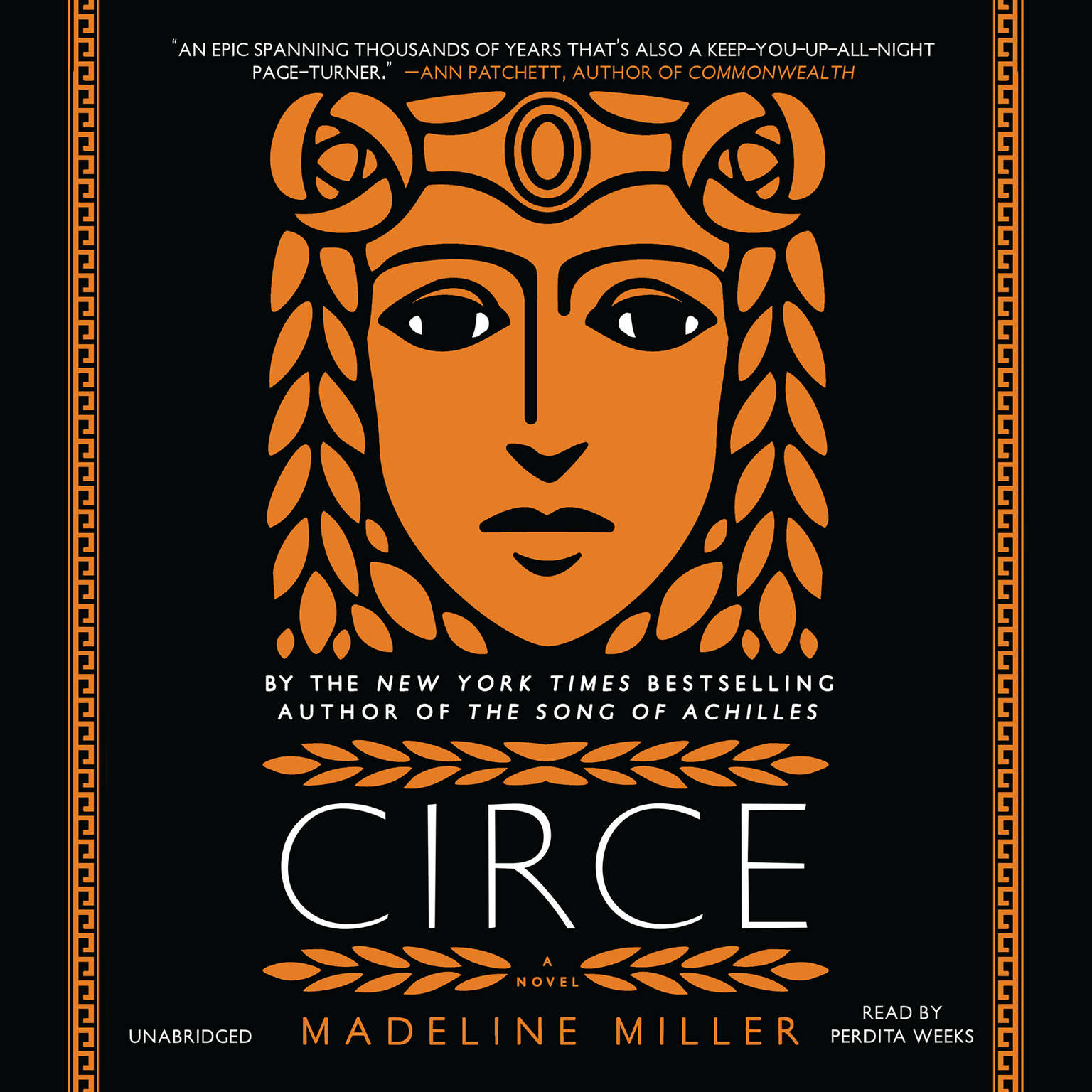 Printable Circe Audiobook Cover Art