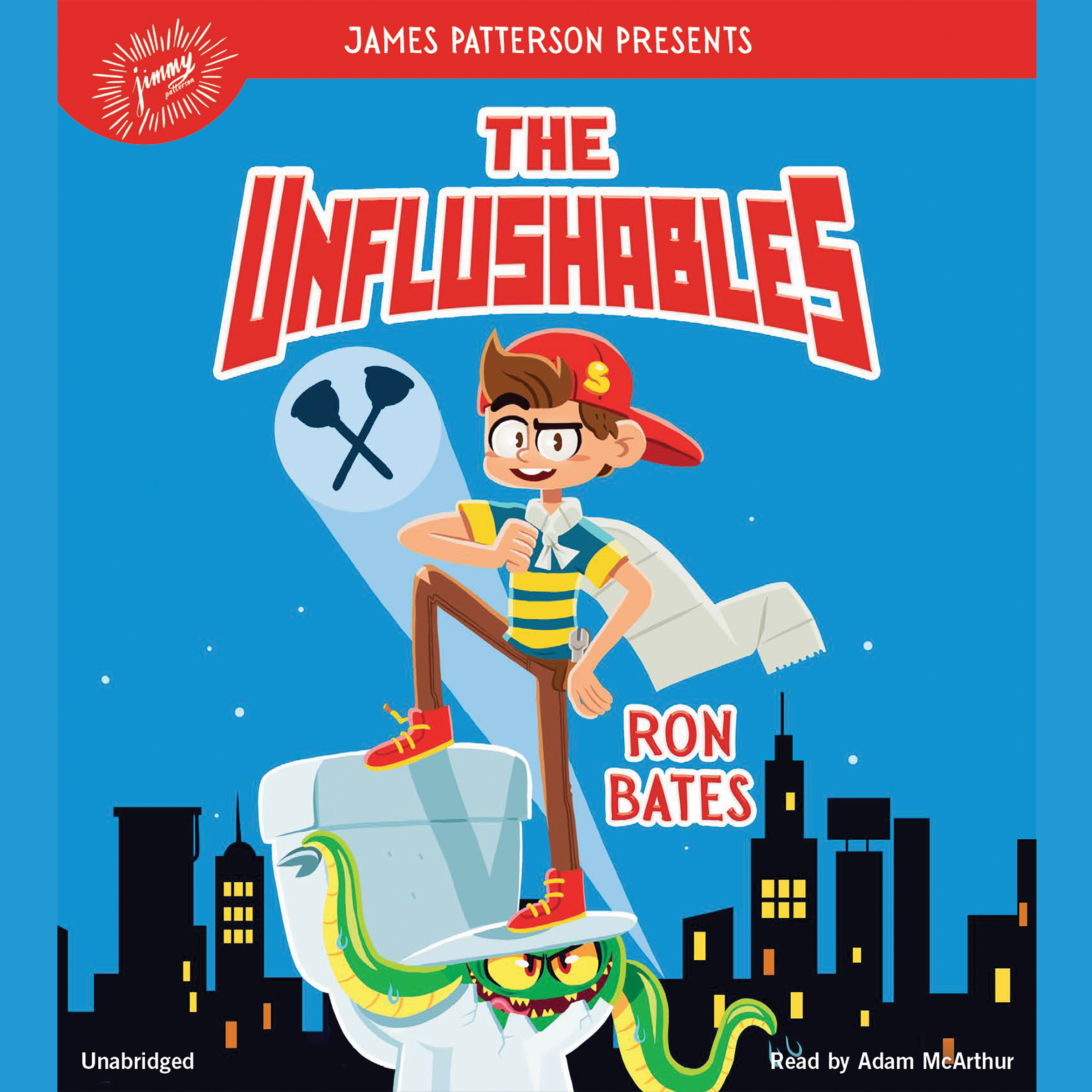 Printable The Unflushables Audiobook Cover Art