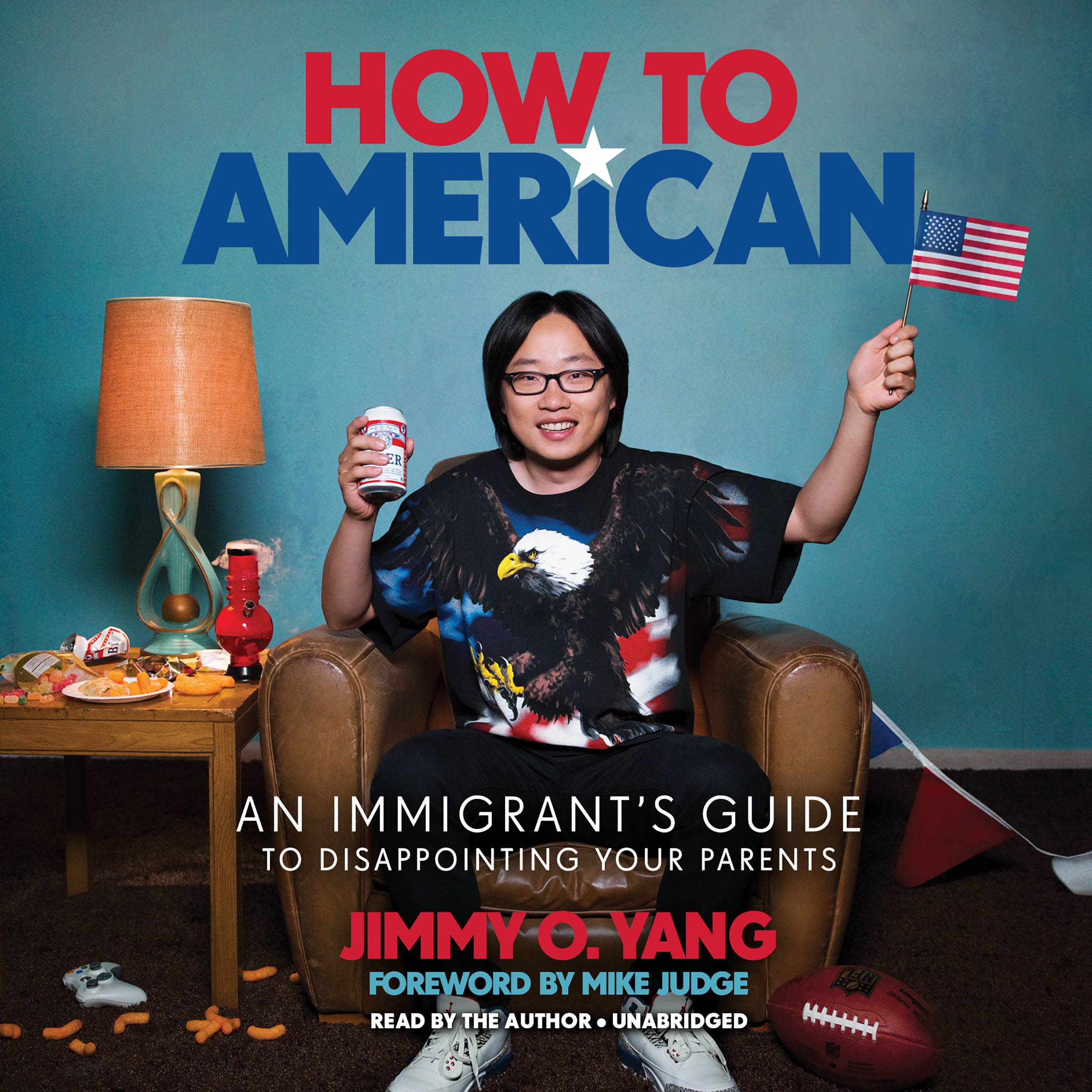 Printable How to American: An Immigrant's Guide to Disappointing Your Parents Audiobook Cover Art