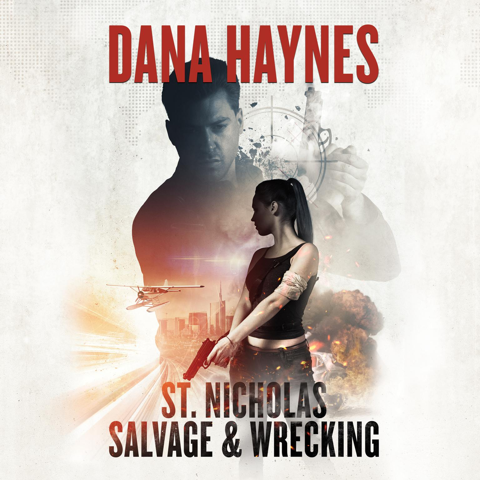 Printable St. Nicholas Salvage & Wrecking Audiobook Cover Art