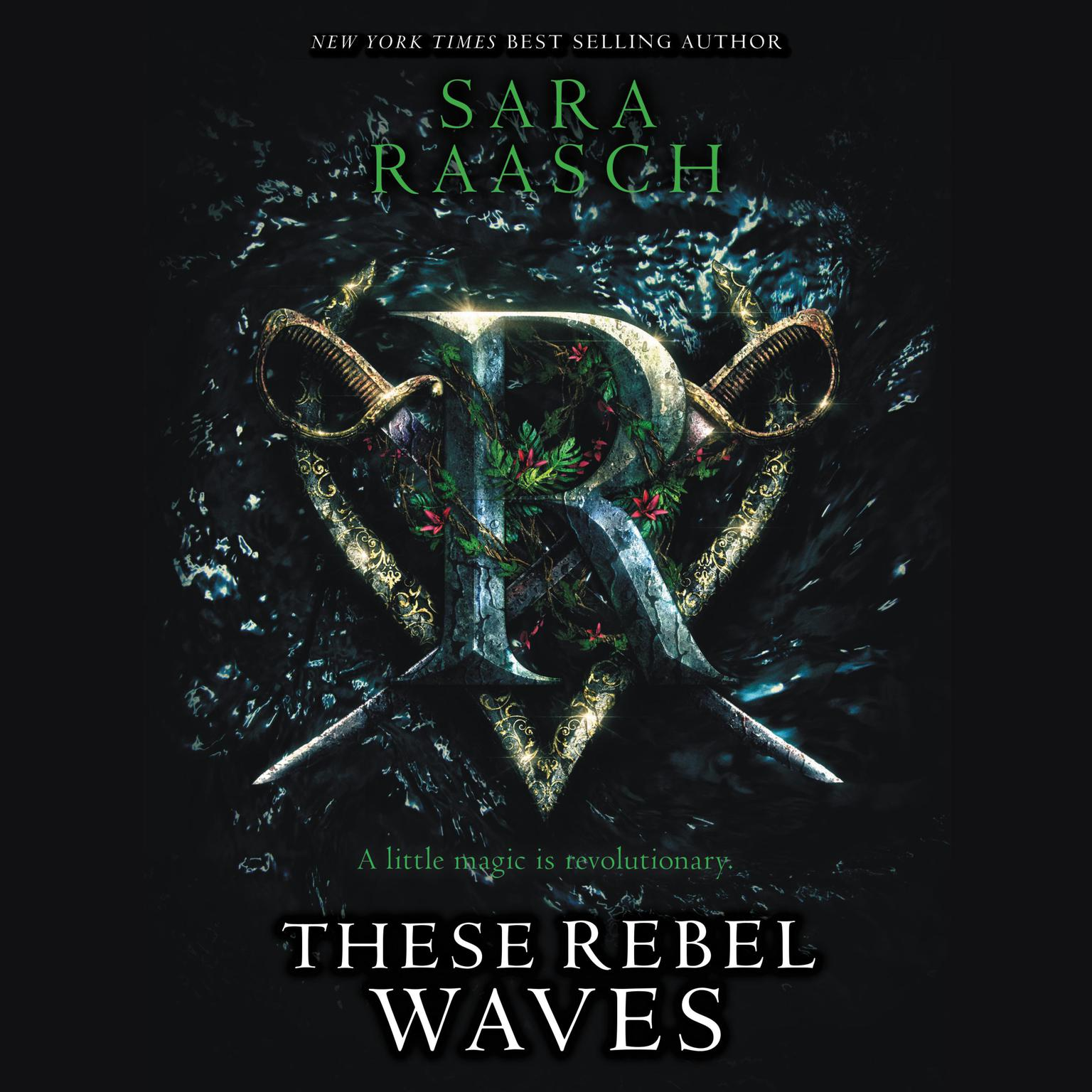 Printable These Rebel Waves Audiobook Cover Art