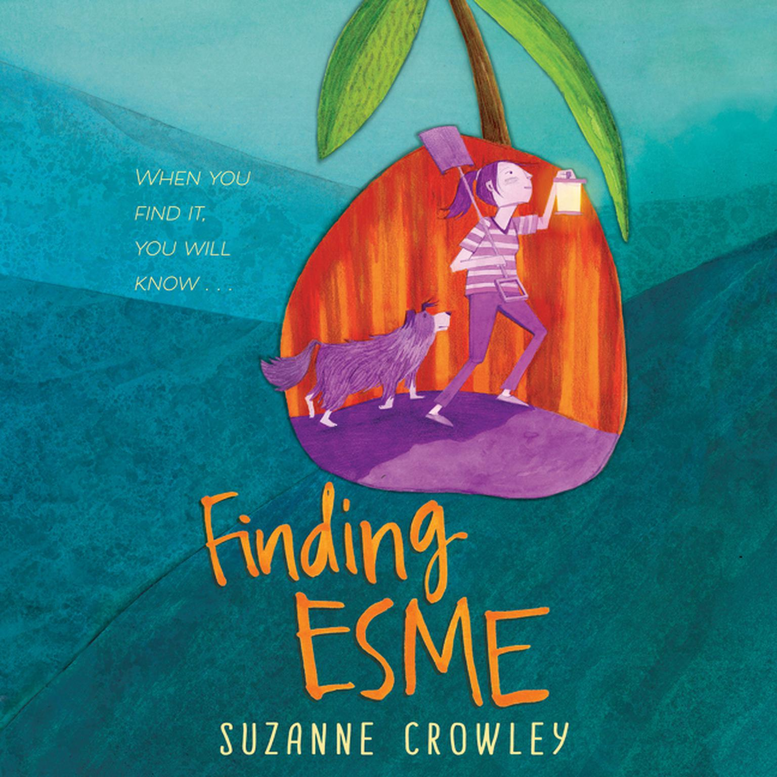 Printable Finding Esme Audiobook Cover Art