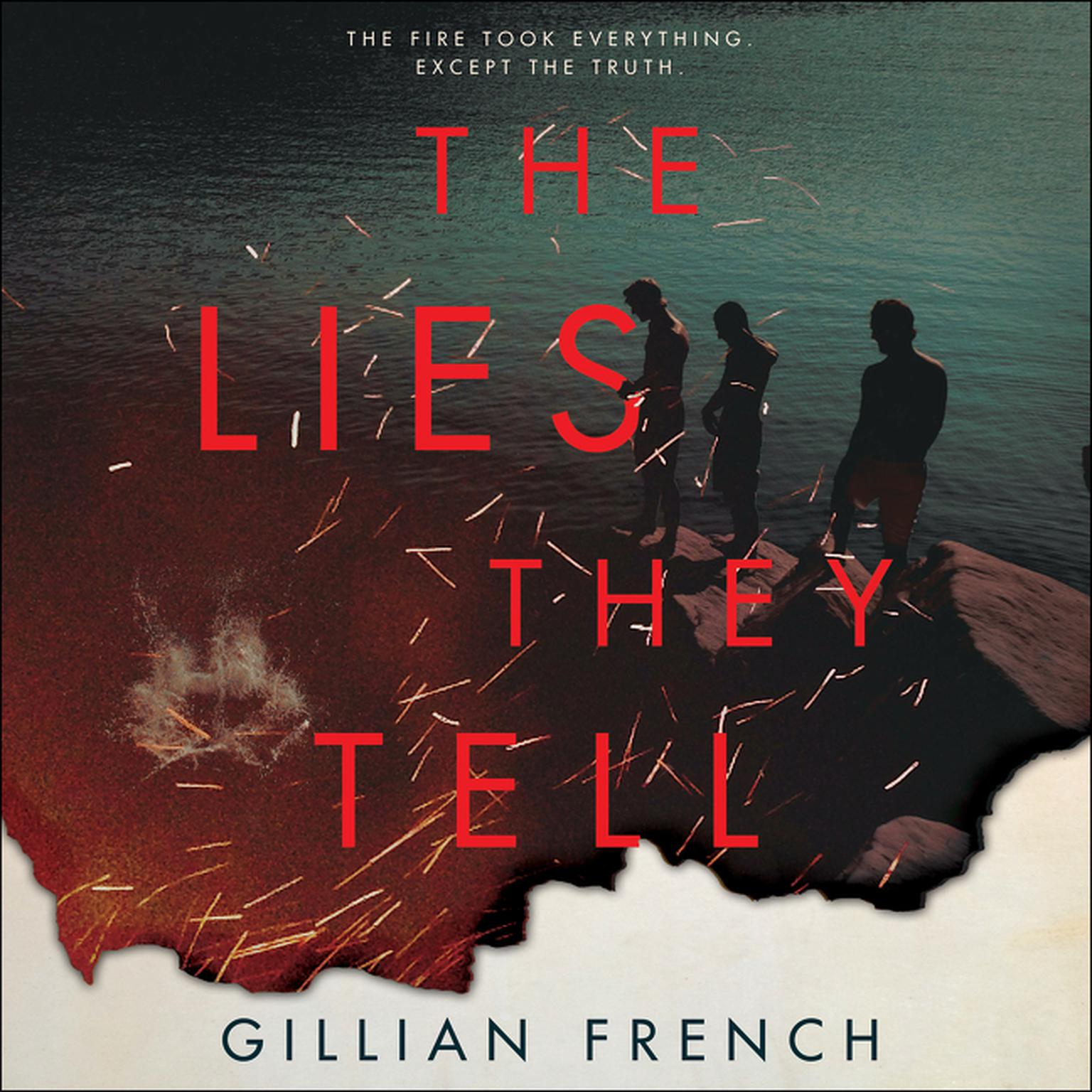 Printable The Lies They Tell Audiobook Cover Art