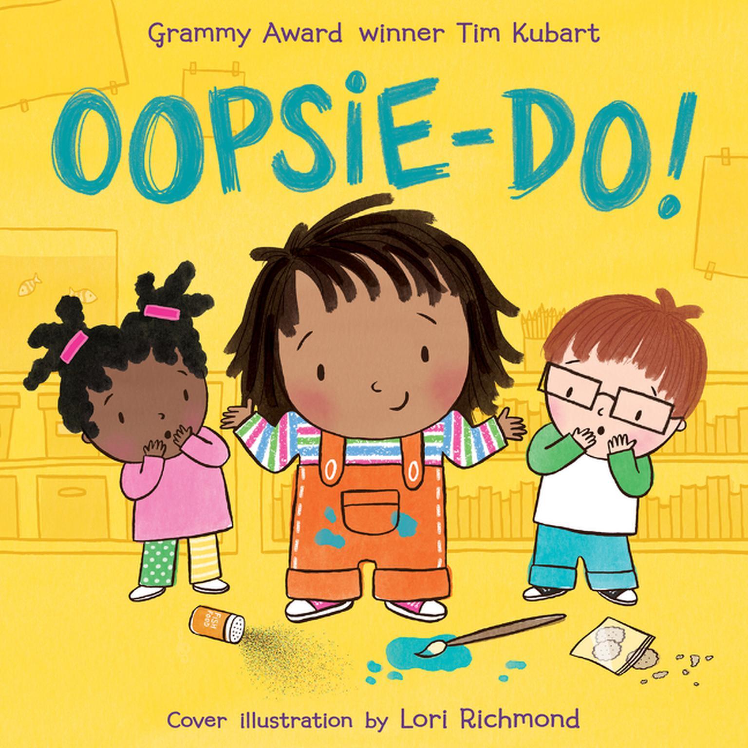 Printable Oopsie-do! Audiobook Cover Art