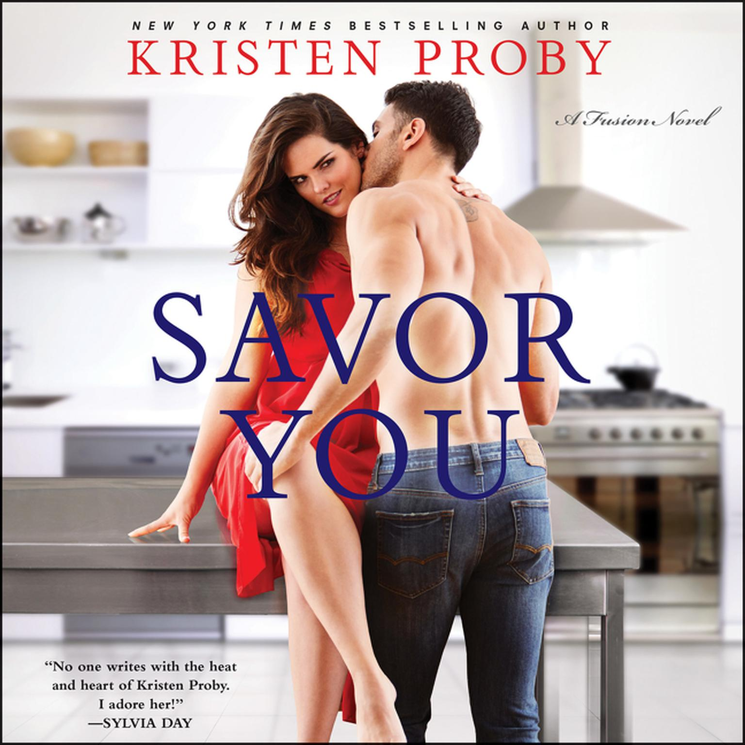 Printable Savor You: A Fusion Novel Audiobook Cover Art