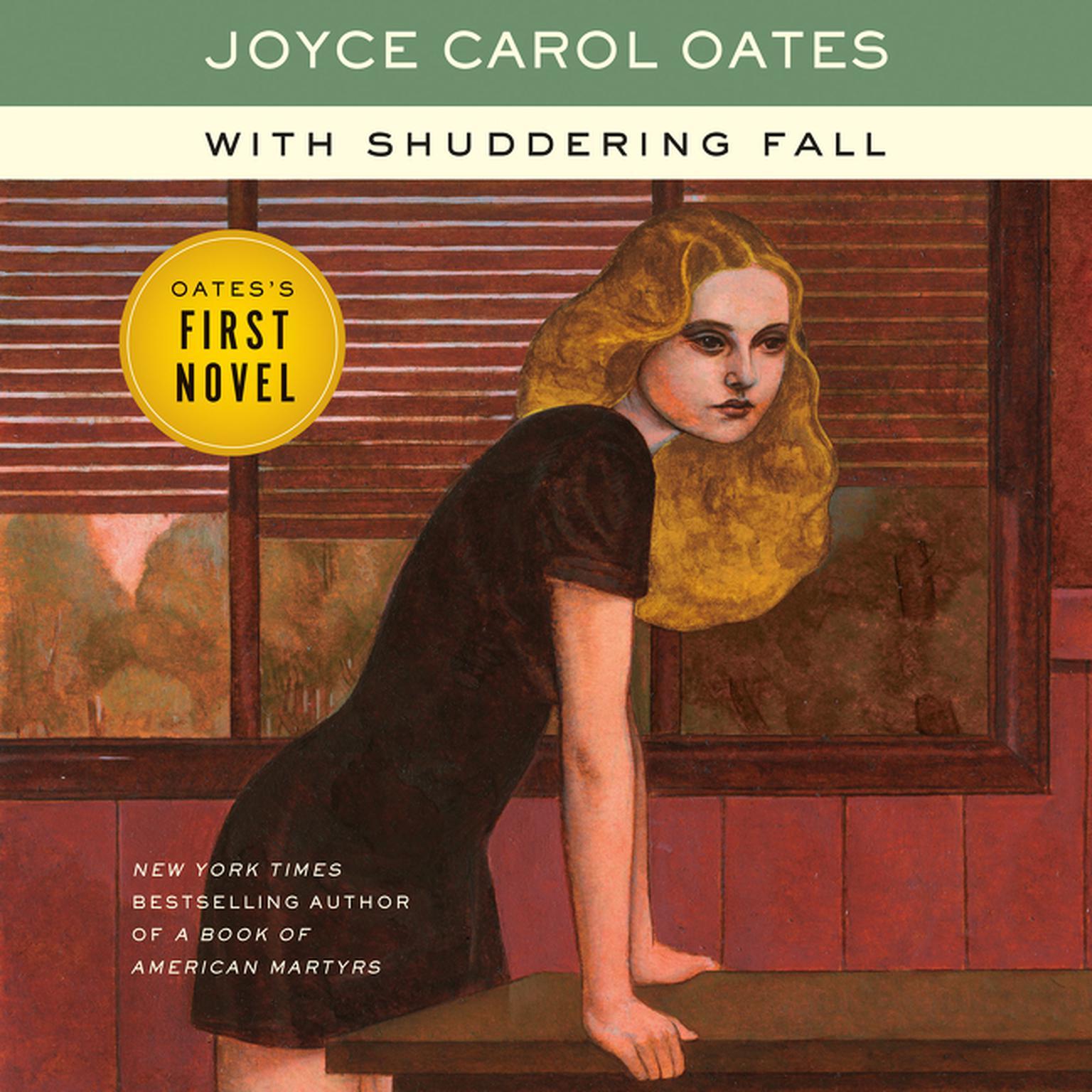 With Shuddering Fall: A Novel Audiobook, by Joyce Carol Oates
