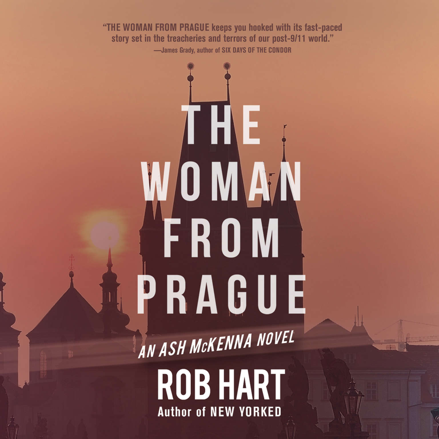 The Woman from Prague Audiobook, by Rob Hart