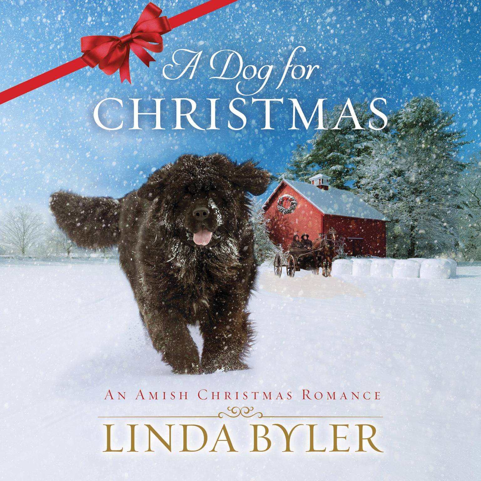 Printable A Dog for Christmas Audiobook Cover Art