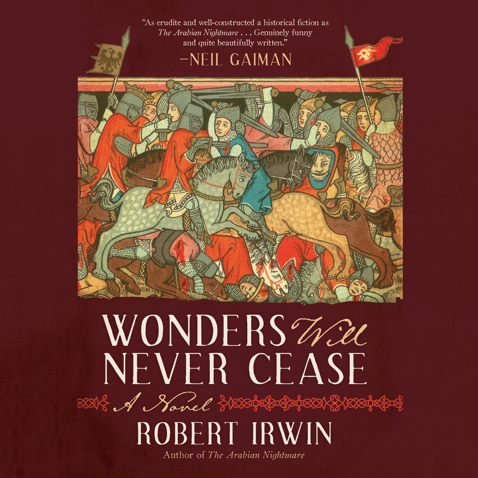 Printable Wonders Will Never Cease: A Novel Audiobook Cover Art