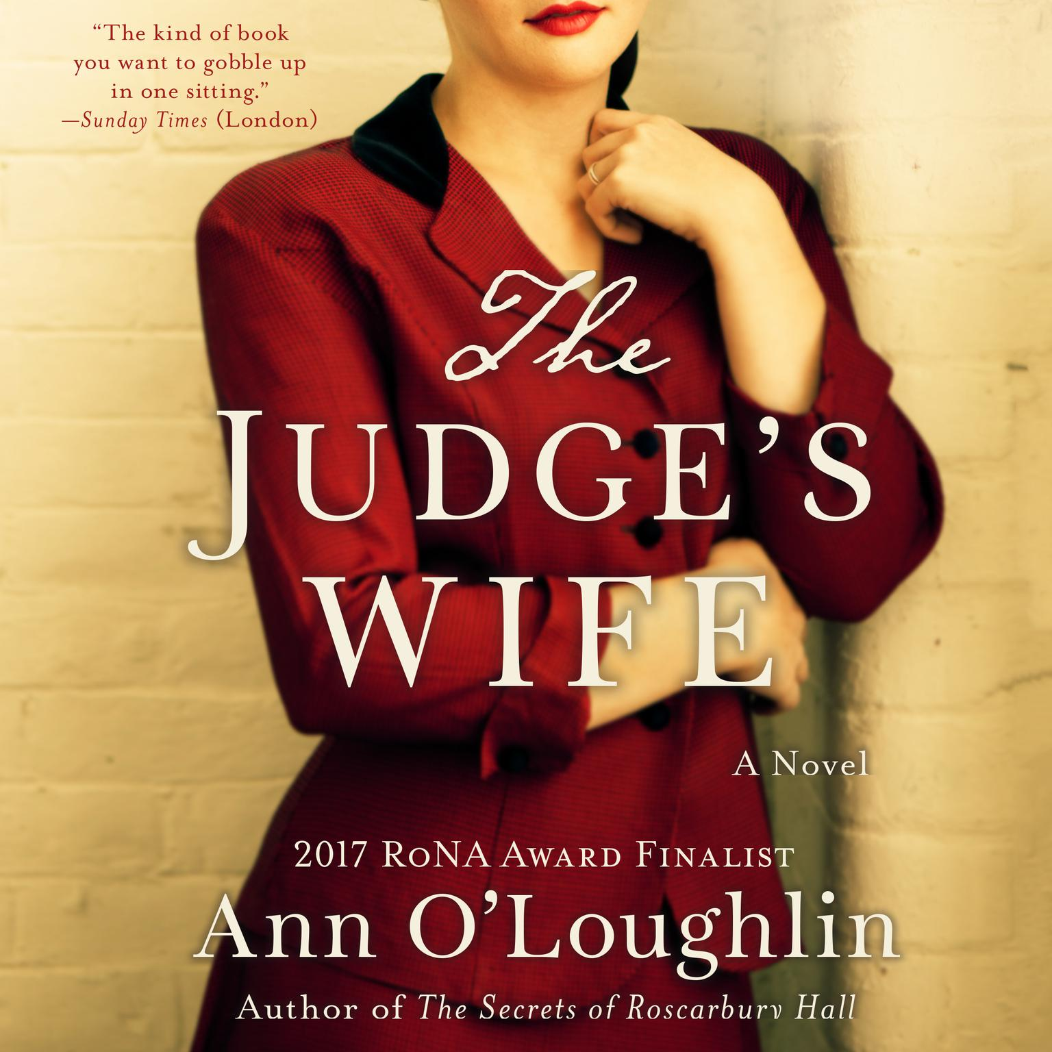 Printable The Judge's Wife Audiobook Cover Art