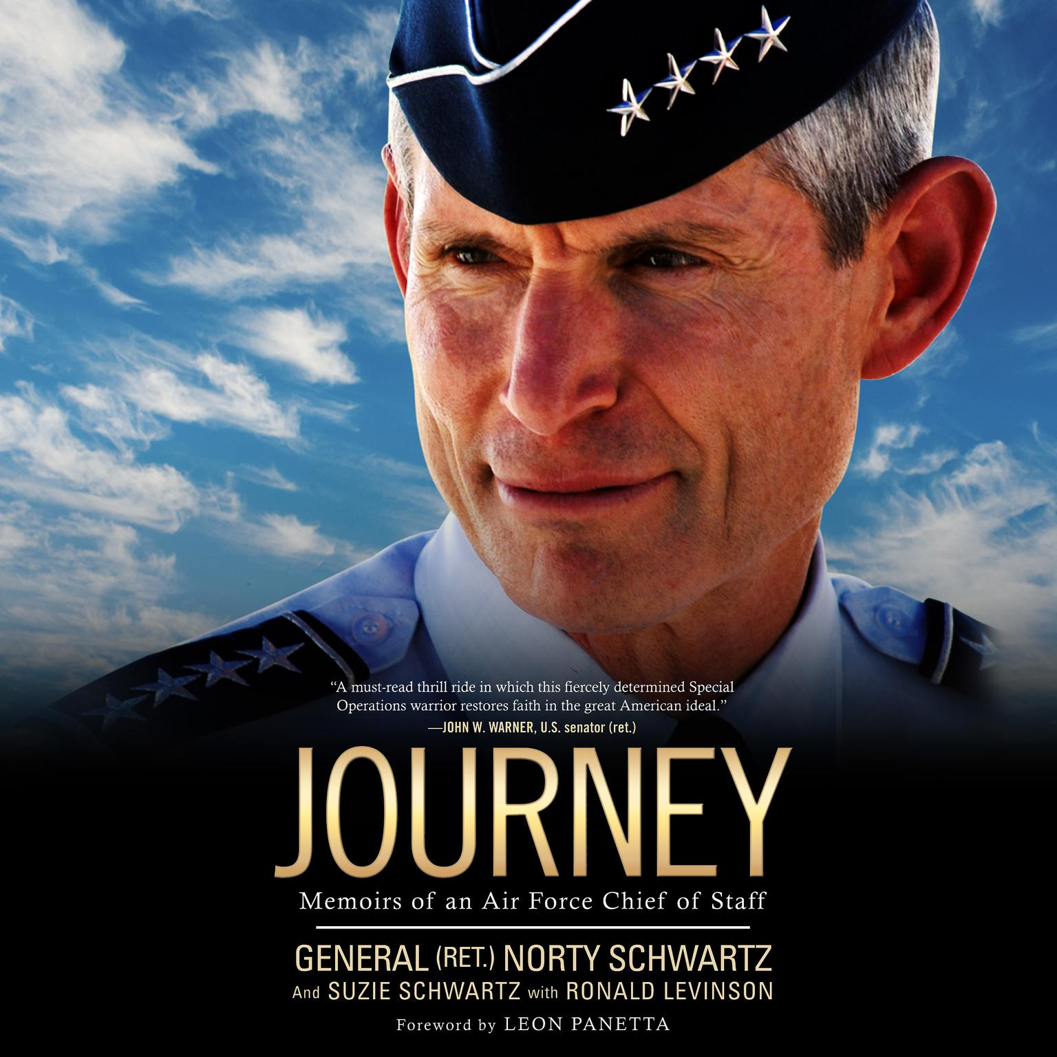 Journey: Memoirs of an Air Force Chief of Staff Audiobook, by Norty Schwartz