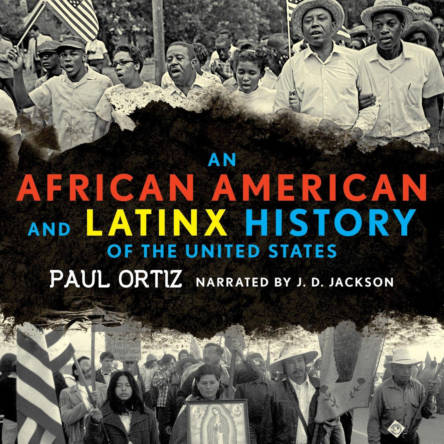 Printable An African American and Latinx History of the United States Audiobook Cover Art