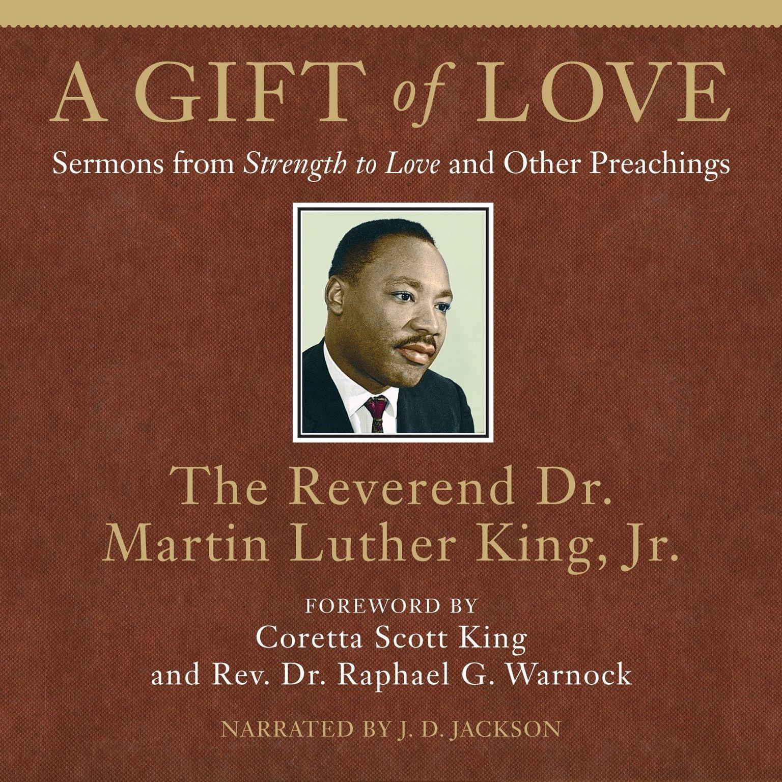 Printable A Gift of Love: Sermons from Strength to Love and Other Preachings Audiobook Cover Art