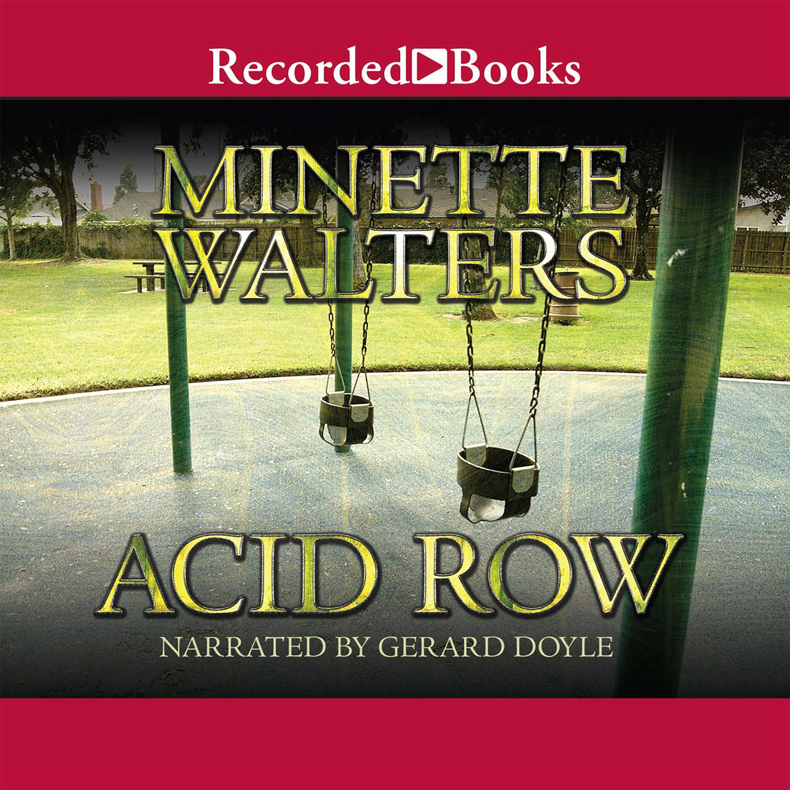 Printable Acid Row Audiobook Cover Art