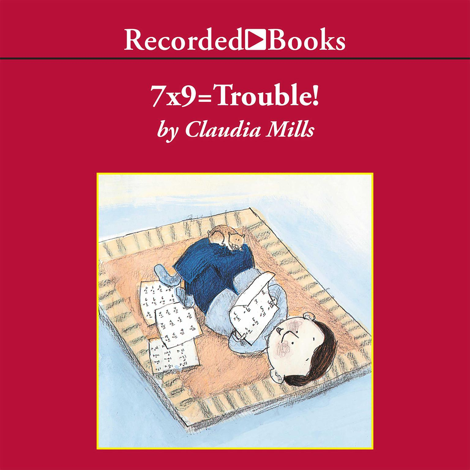 Printable 7X9 = Trouble! Audiobook Cover Art